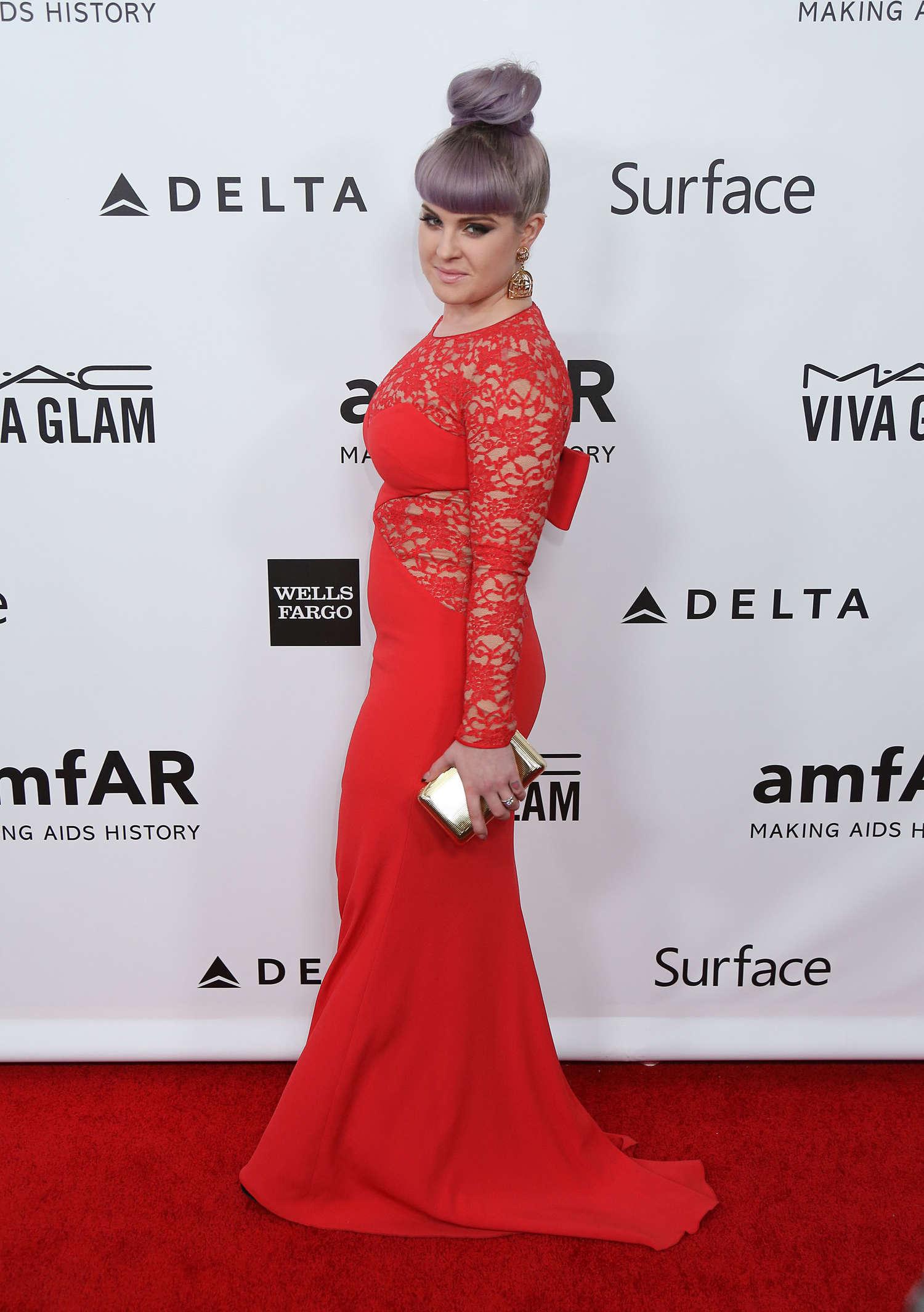 Kelly Osbourne amFAR Inspiration Gala in Los Angeles