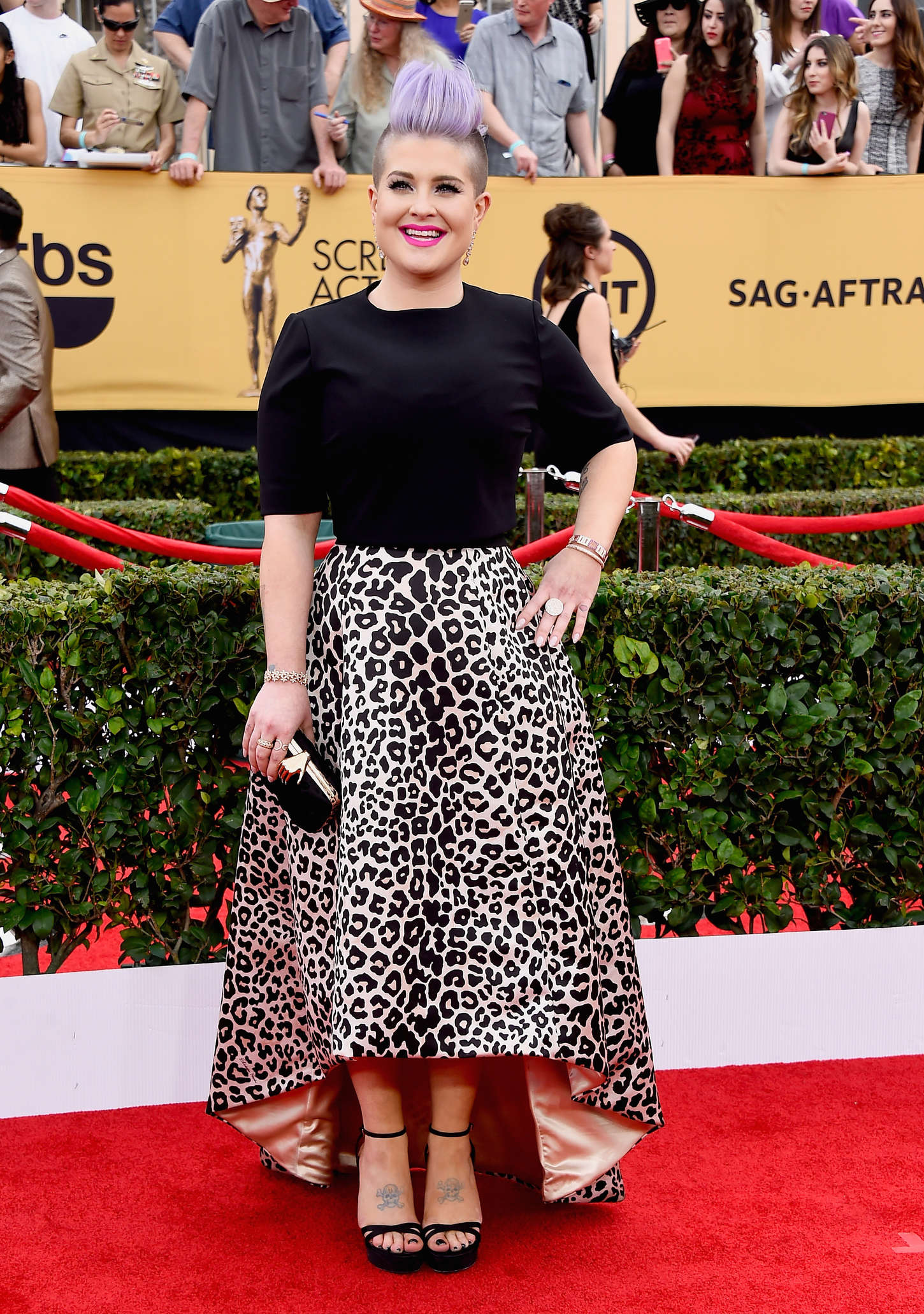 Kelly Osbourne Annual Screen Actors Guild Awards in Los Angeles