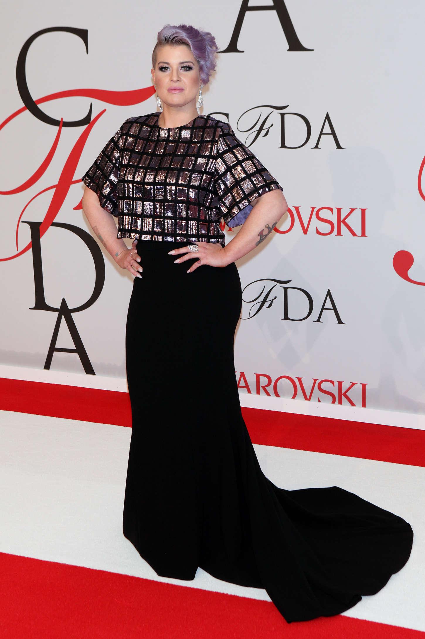 Kelly Osbourne CFDA Fashion Awards in New York