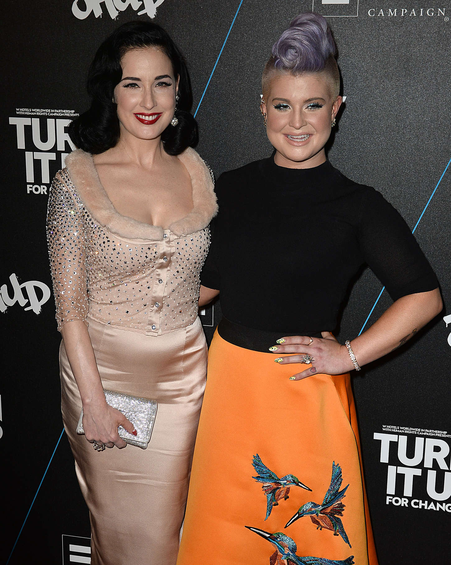 Kelly Osbourne Marquee Turn it Up For Change Ball in Hollywood
