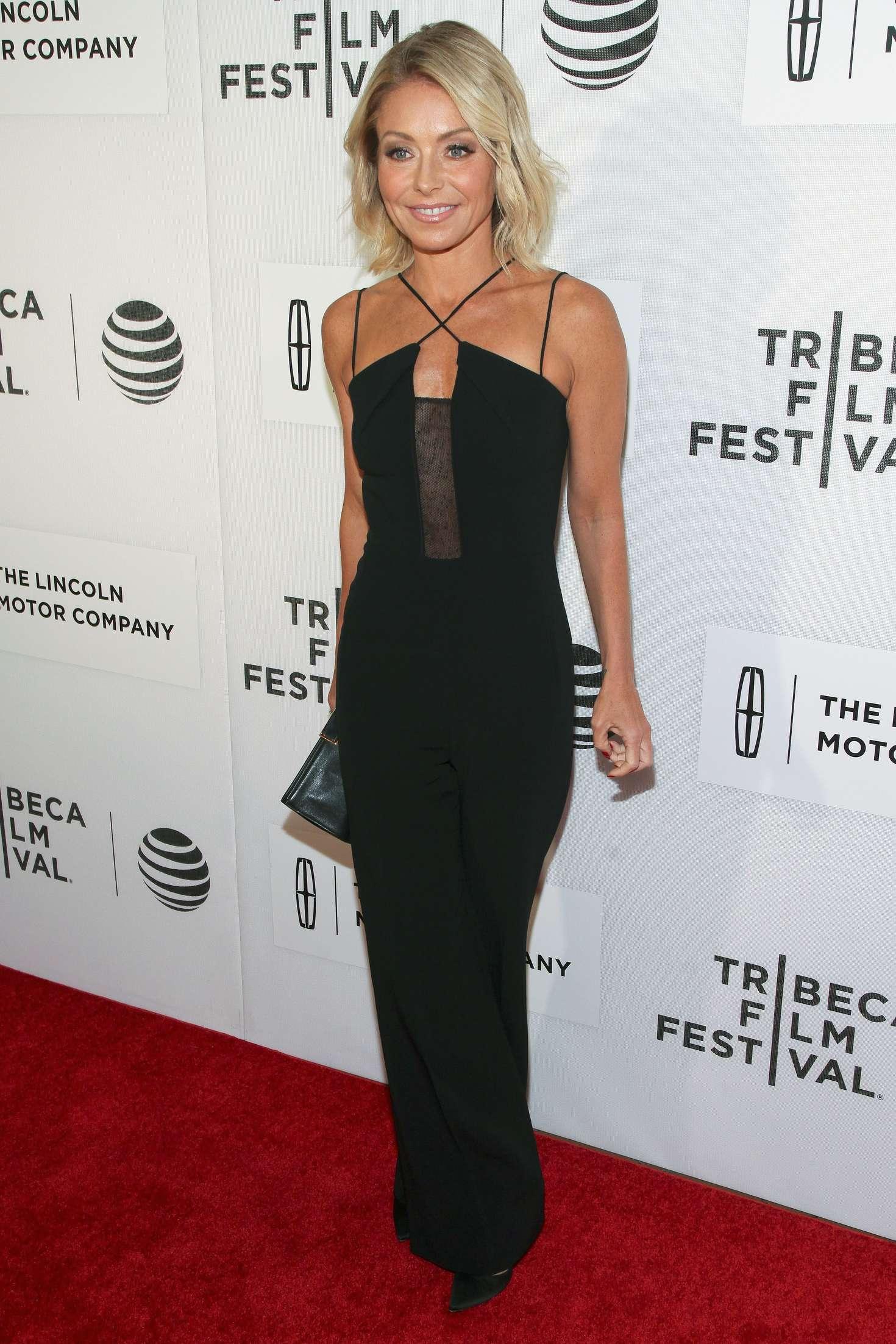 Kelly Ripa Custody Premiere at Tribeca Film Festival in New York