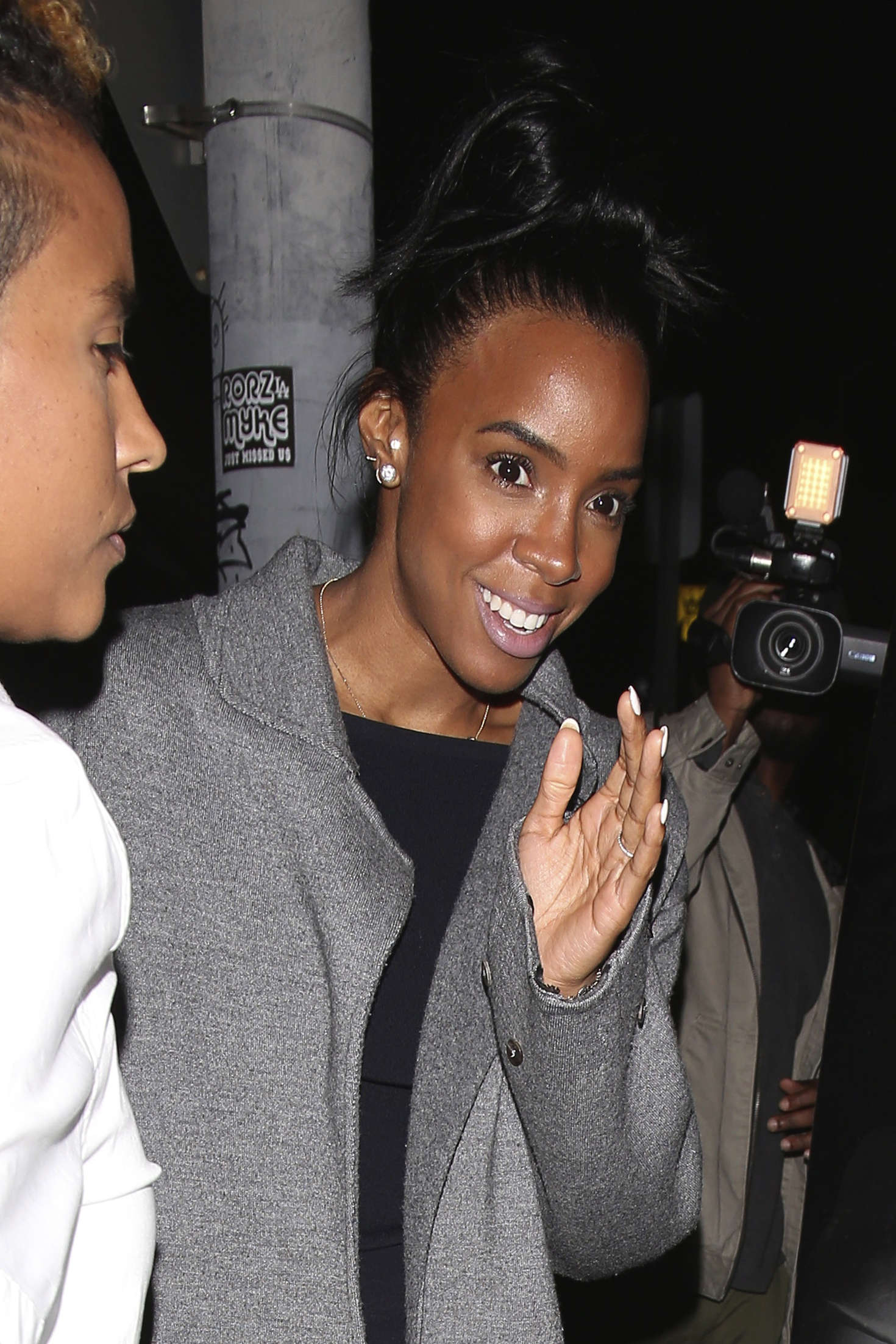 Kelly Rowland at The Nice Guy in West Hollywood