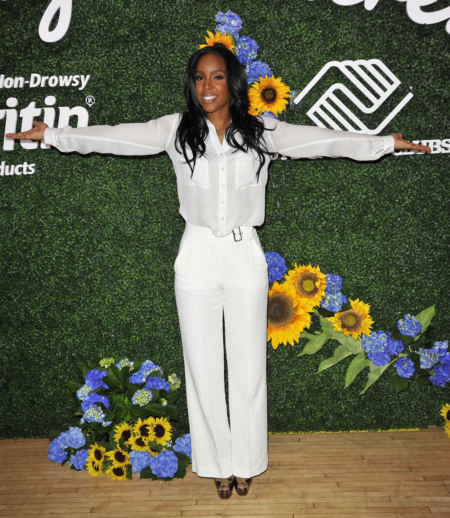 Kelly Rowland Claritans Spring with Boys and Girls Clubs Event in New York