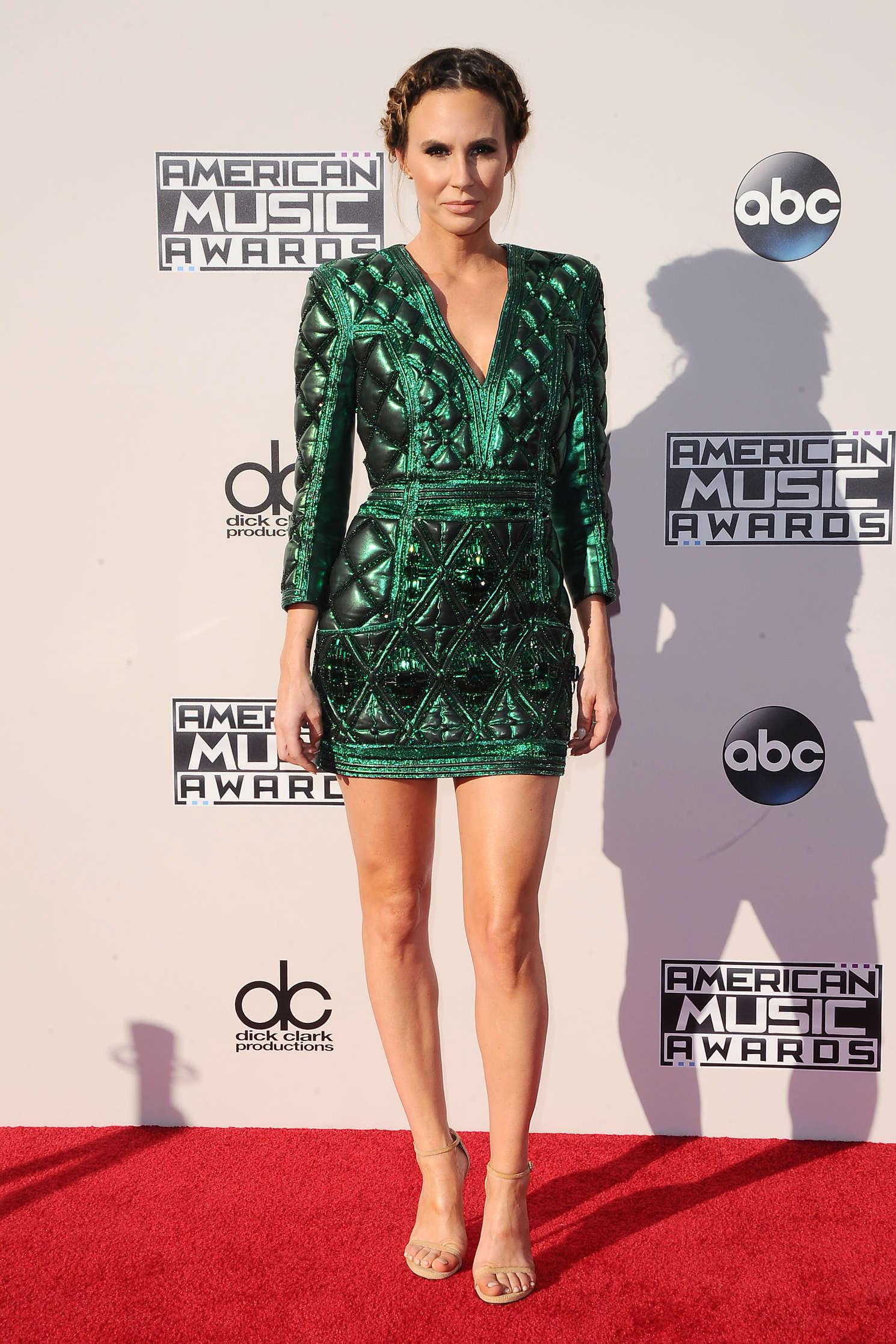 Keltie Knight American Music Awards in Los Angeles