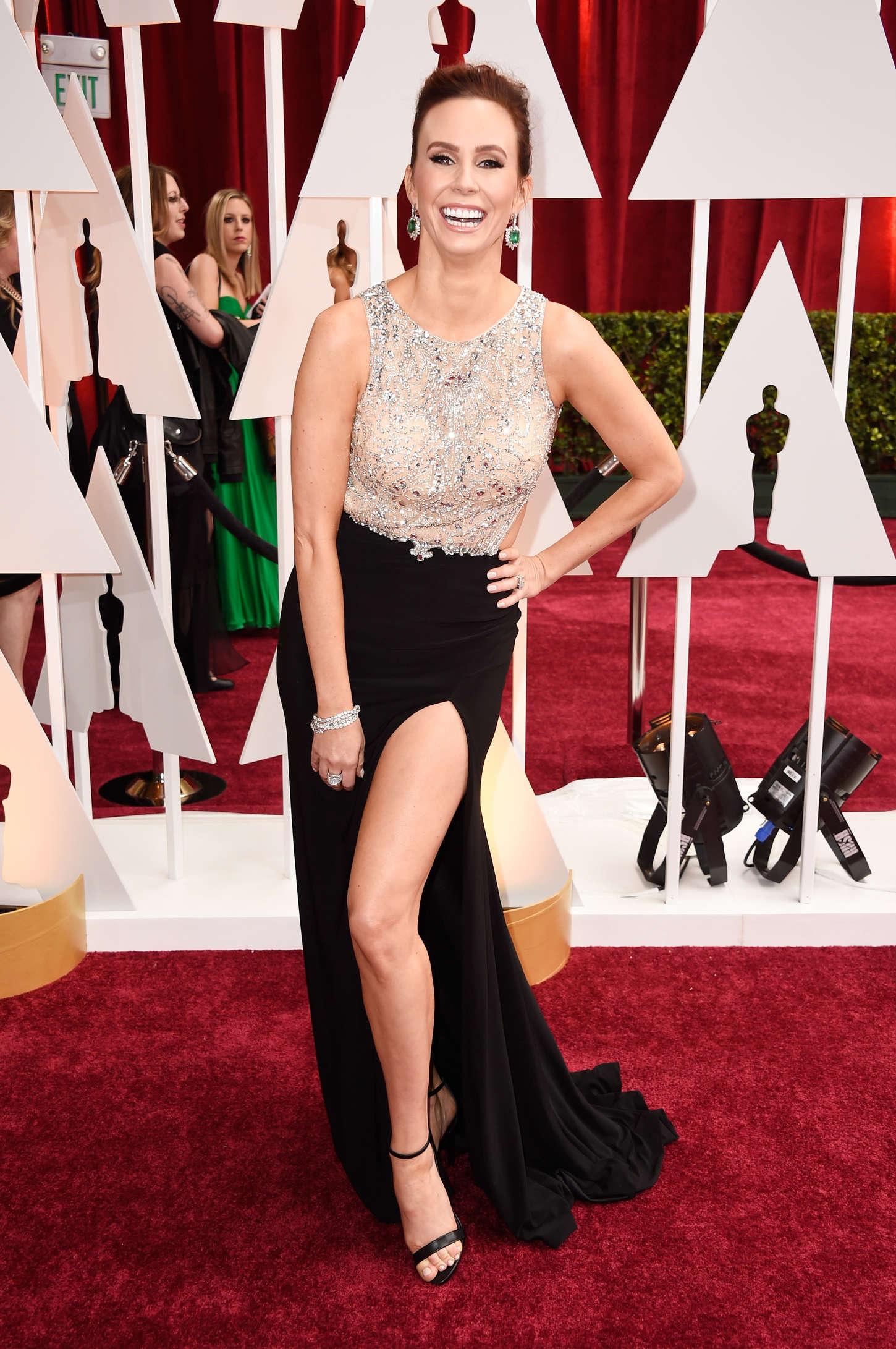 Keltie Knight Annual Academy Awards in Hollywood