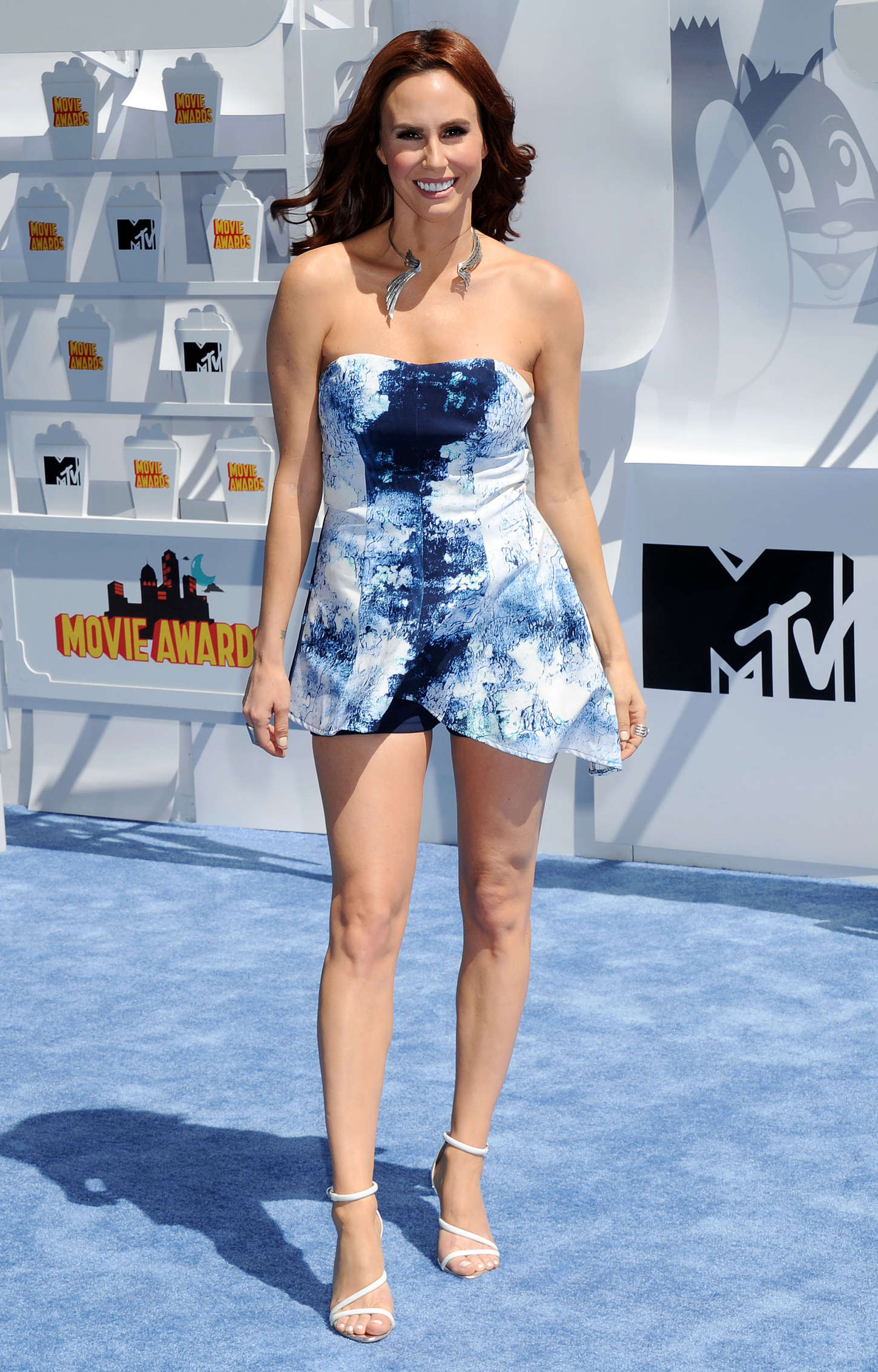 Keltie Knight MTV Movie Awards in Los Angeles