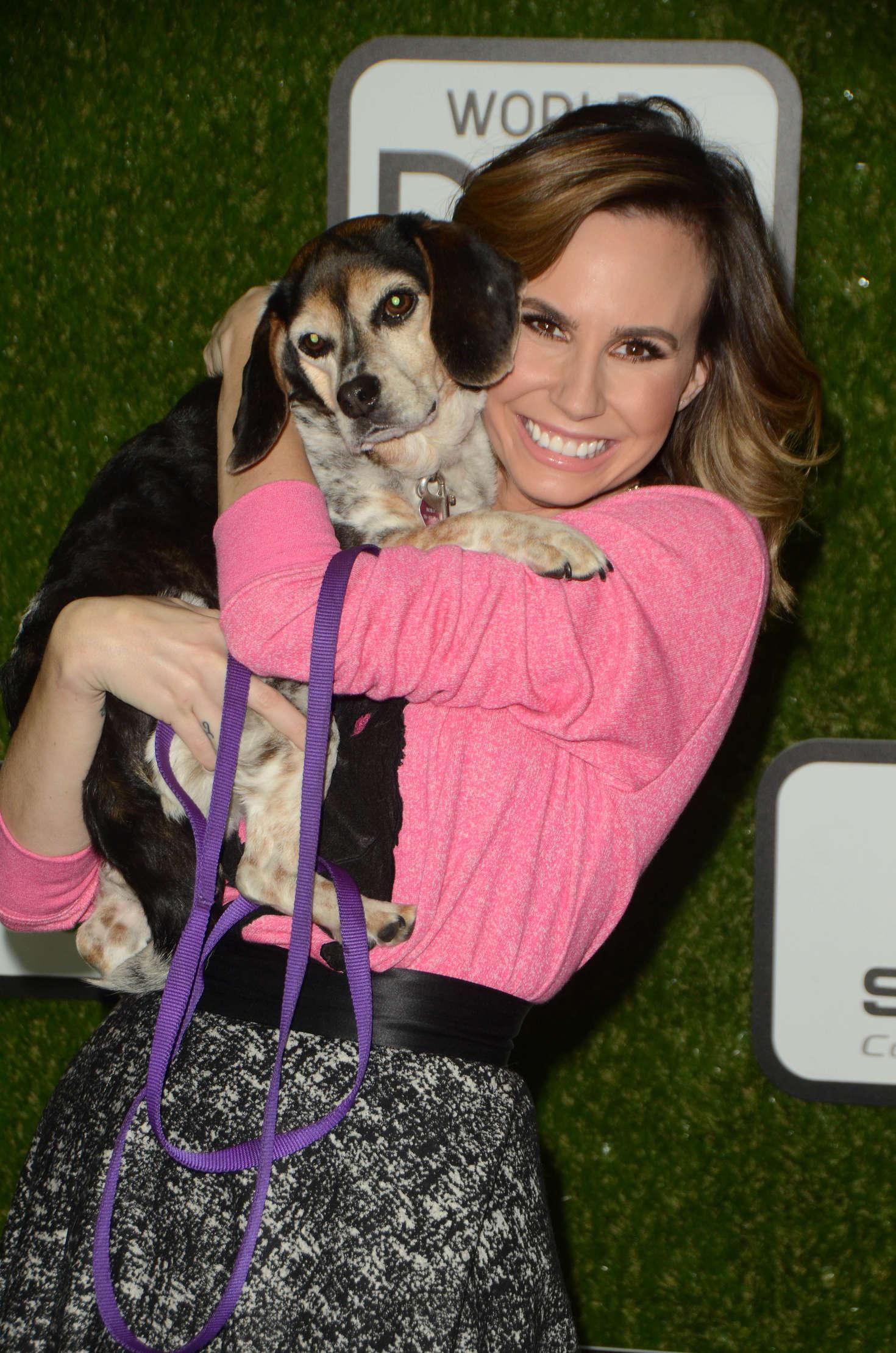Keltie Knight World Dog Awards in Santa Monica
