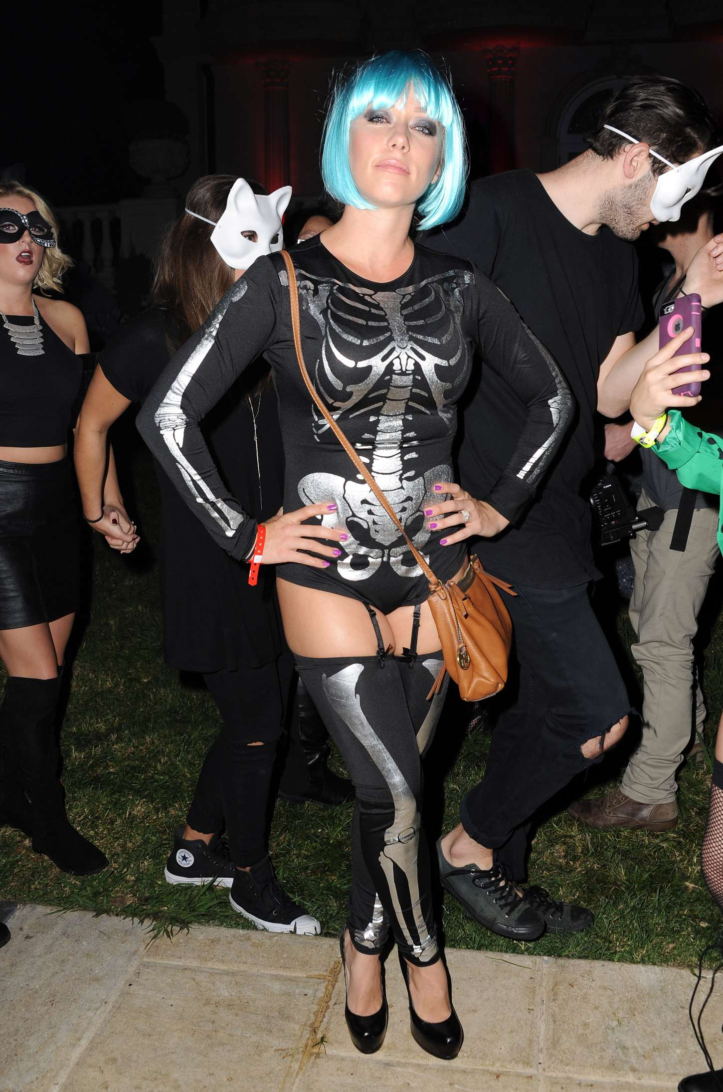 Kendra Wilkinson MAXIM Magazines Official Halloween Party in Beverly Hills