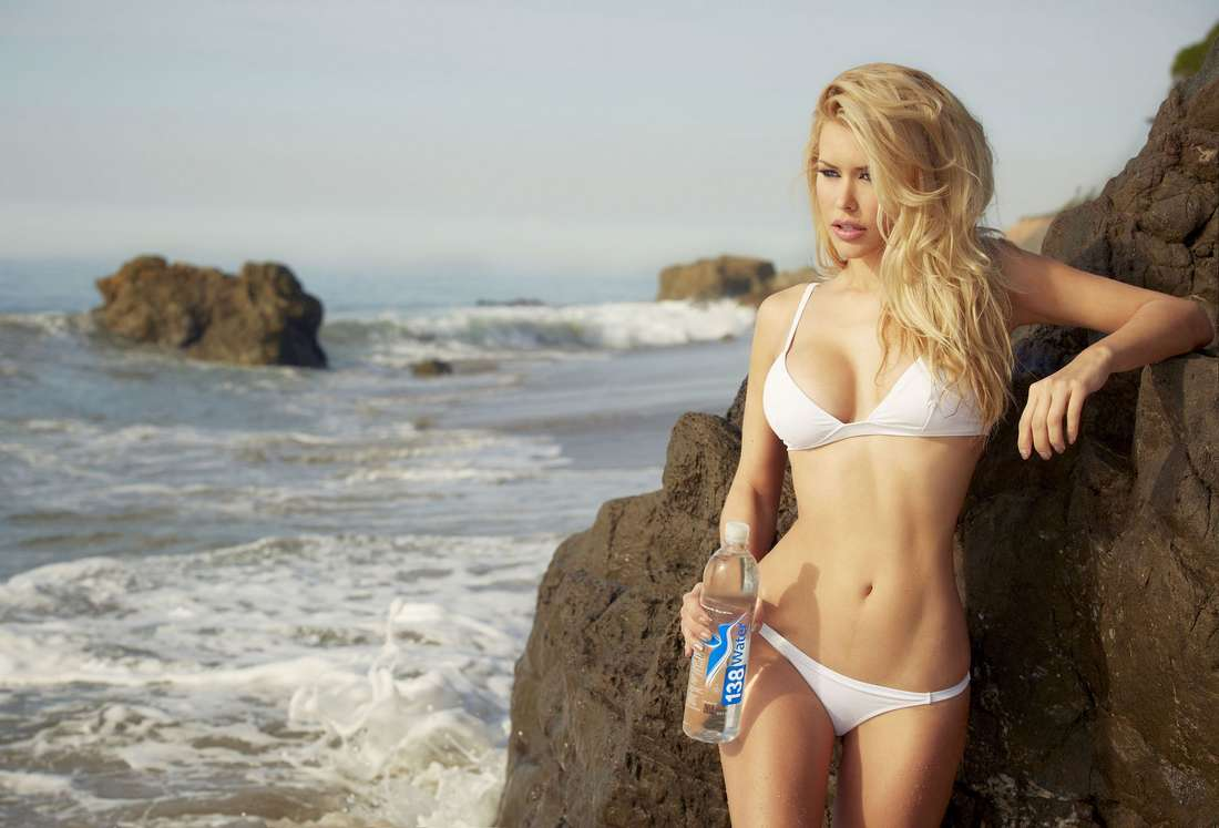 Kennedy Summers Water Photoshoot in Malibu