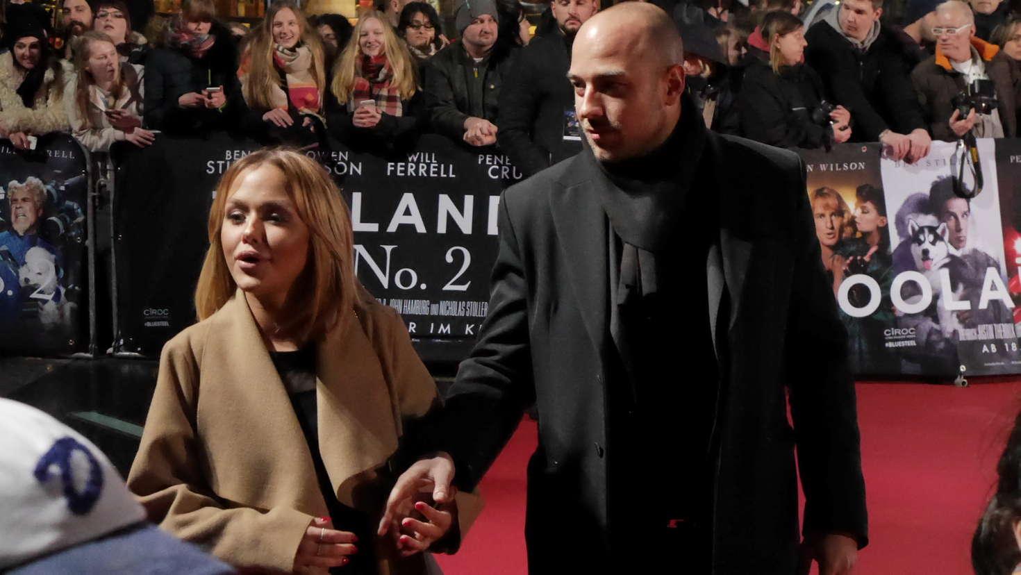 Kim Gloss Zoolander No. Premiere in Berlin