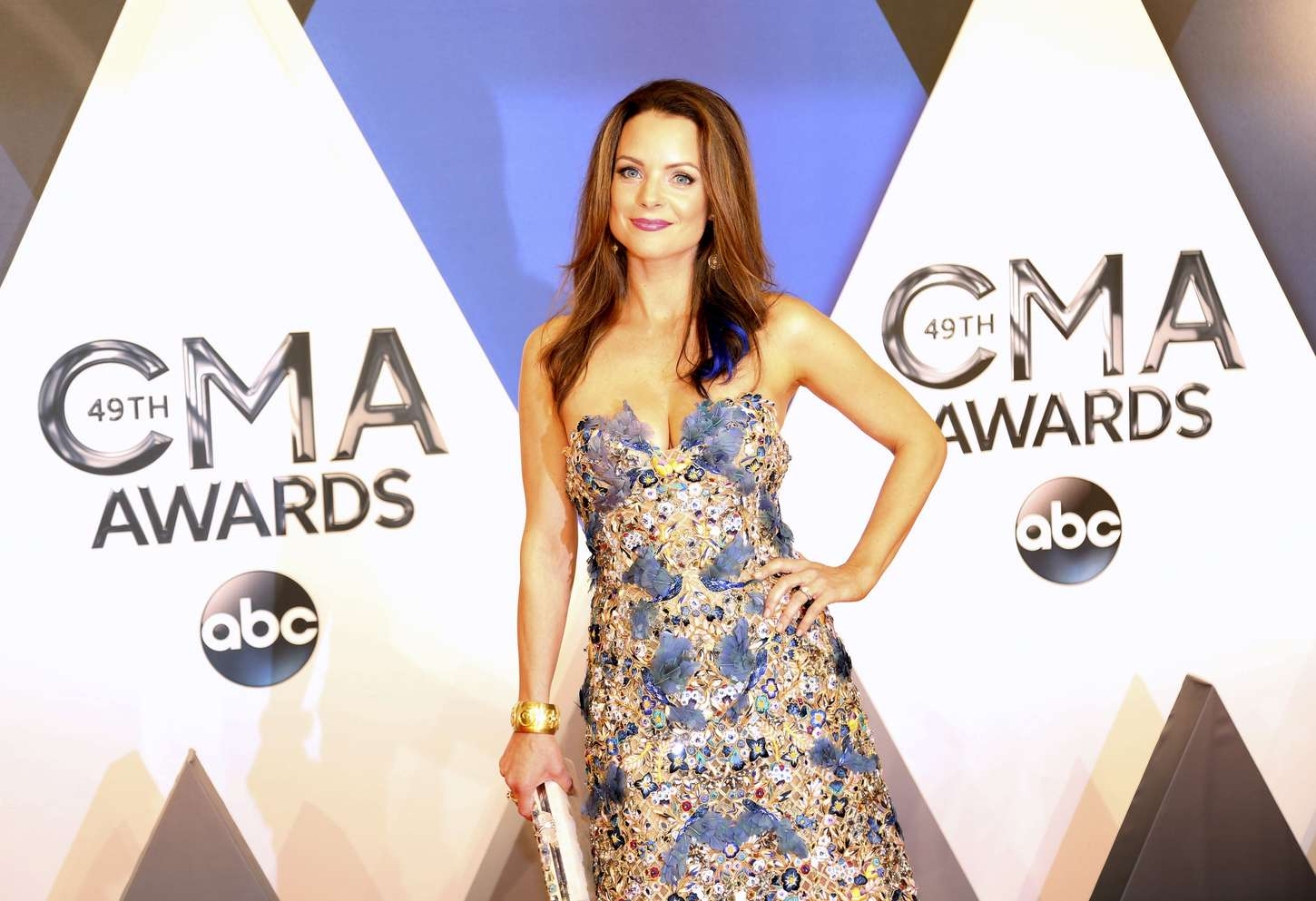 Kimberly Williams-Paisley Annual CMA Awards in Nashville