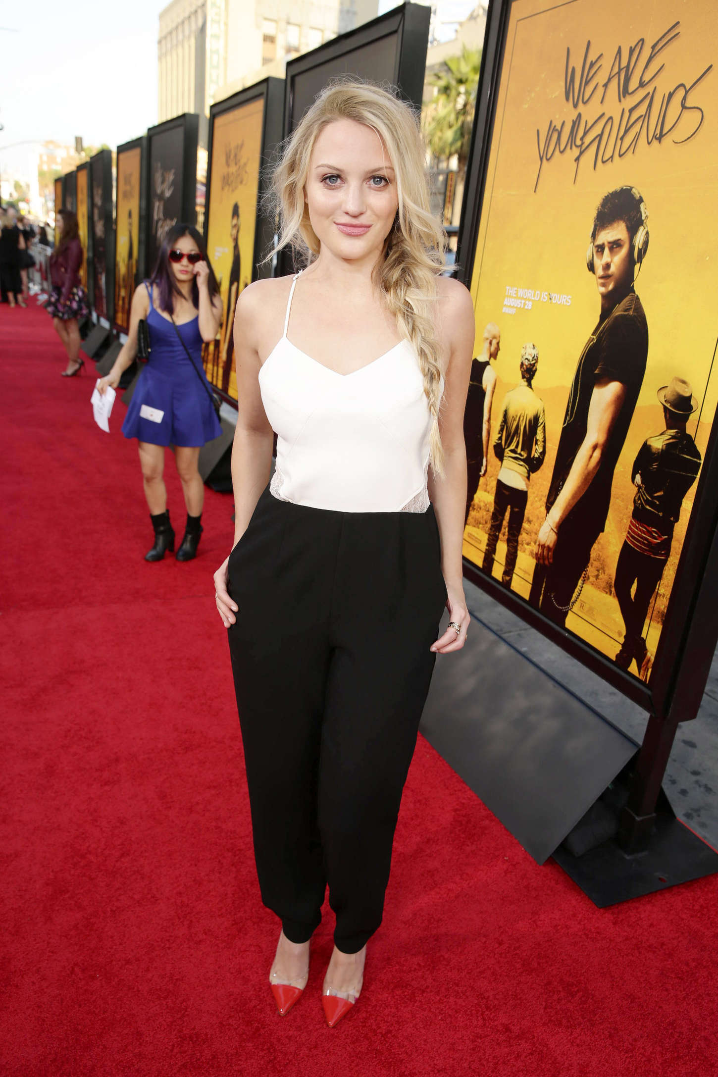 Kirby Bliss Blanton We Are Your Friends Premiere in Los Angeles