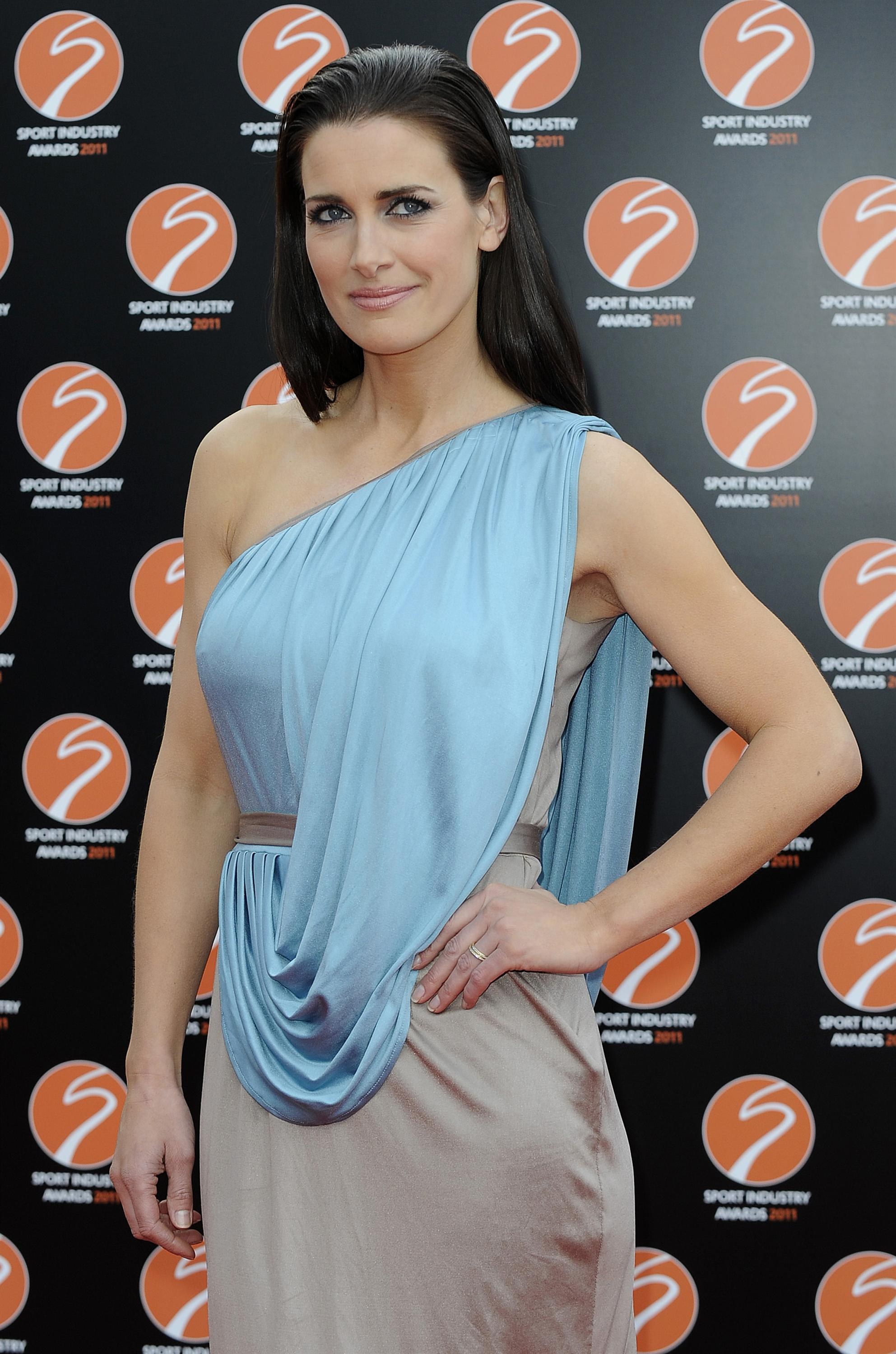 Kirsty Gallacher at Sport Industry Awards in London