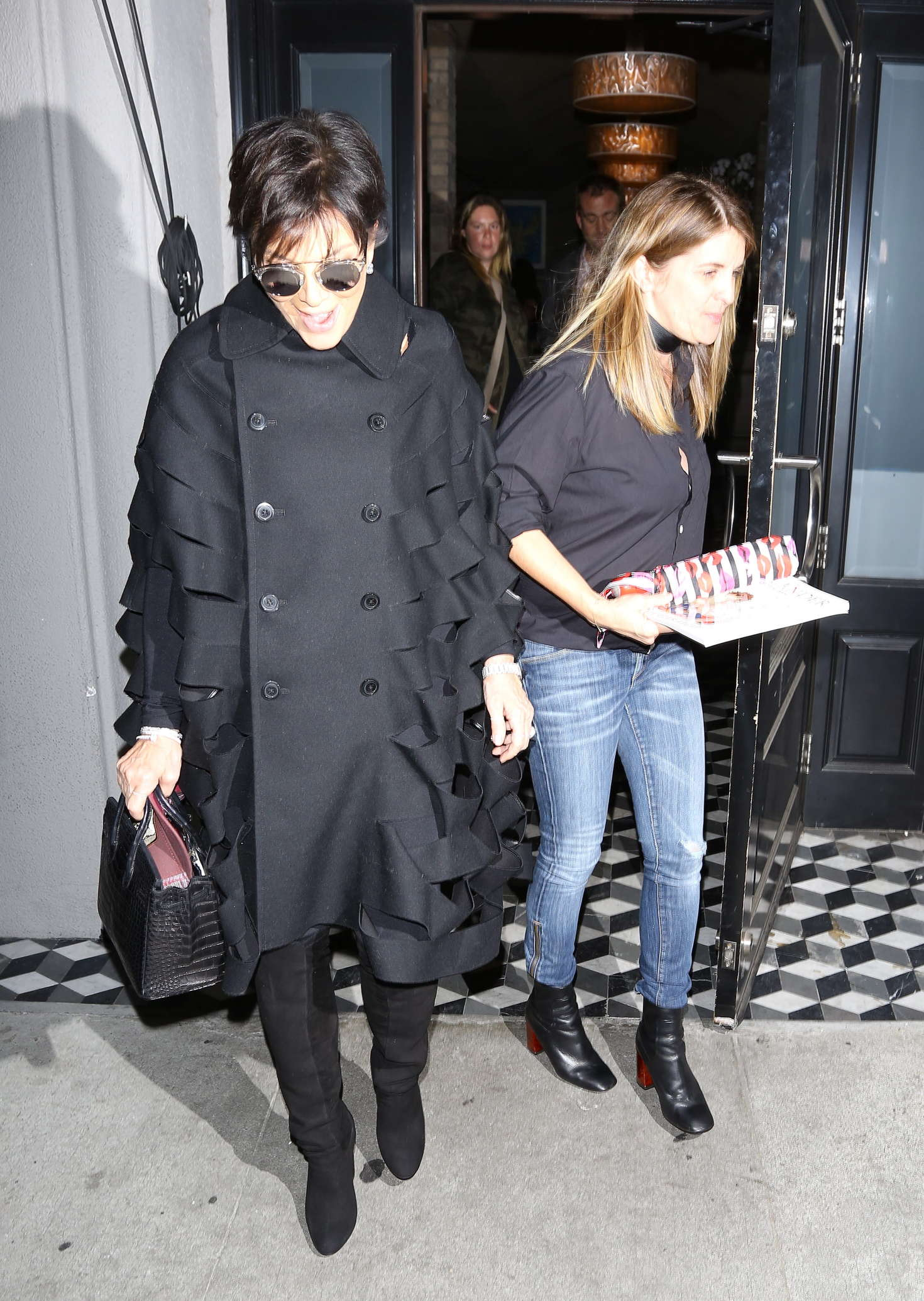 Kris Jenner at Craigs Restaurant in West Hollywood-1