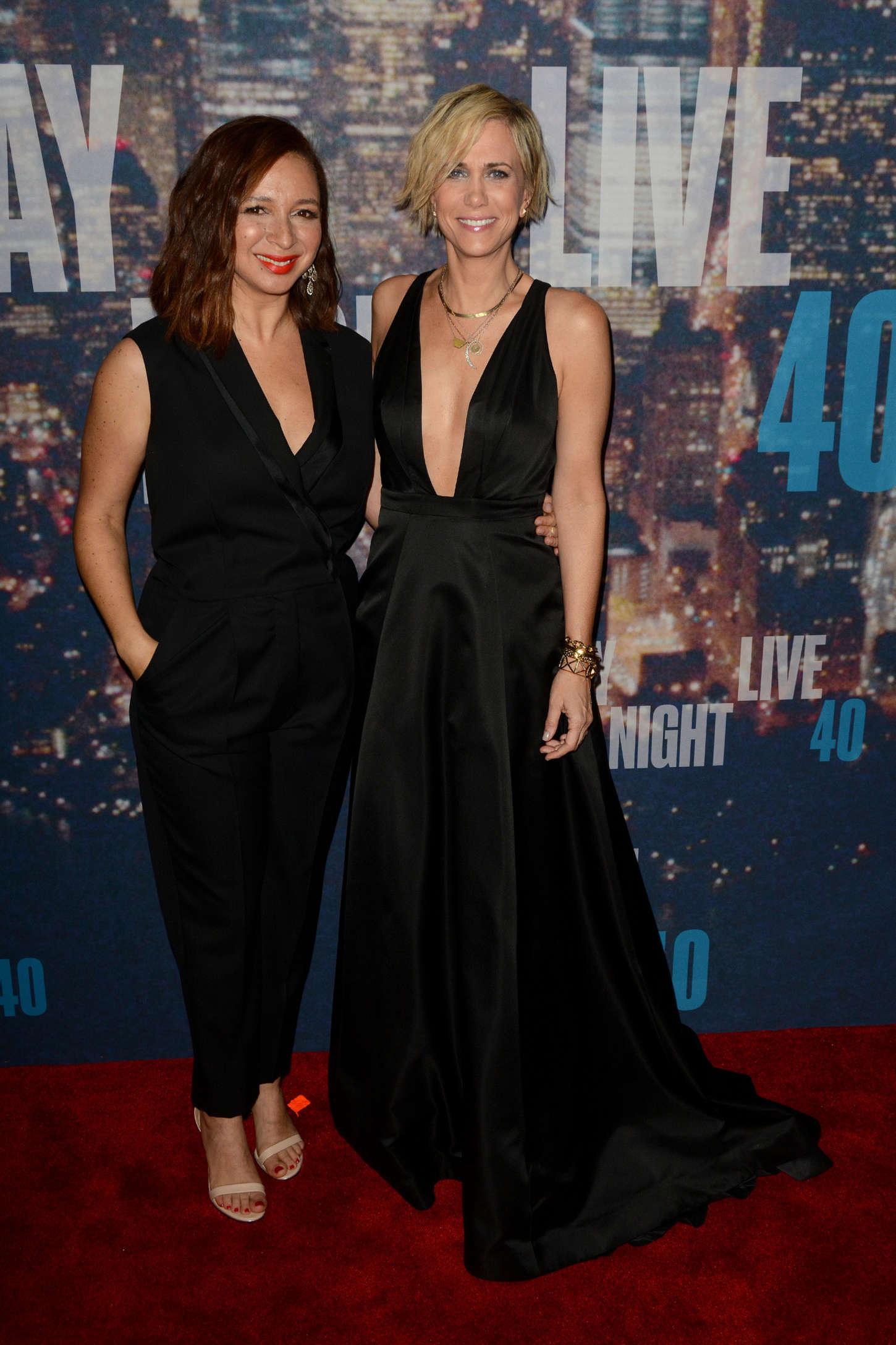 Kristen Wiig SNL Anniversary Special in New York