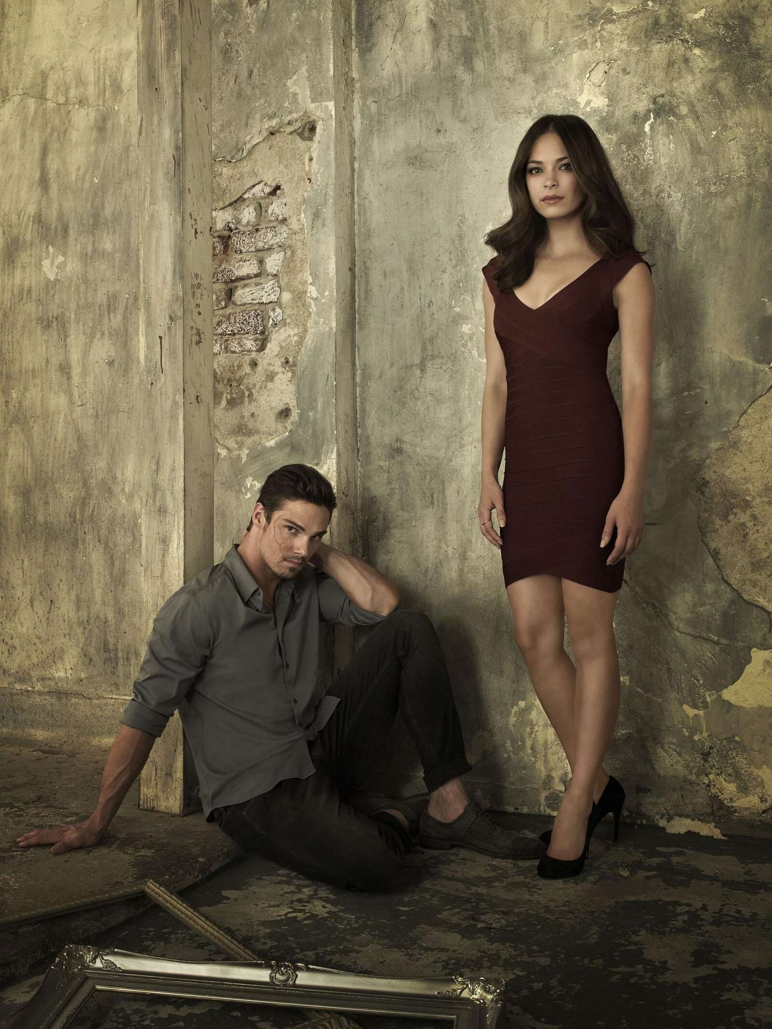 Kristin Kreuk Jay Ryan Beauty and the Beast Promos