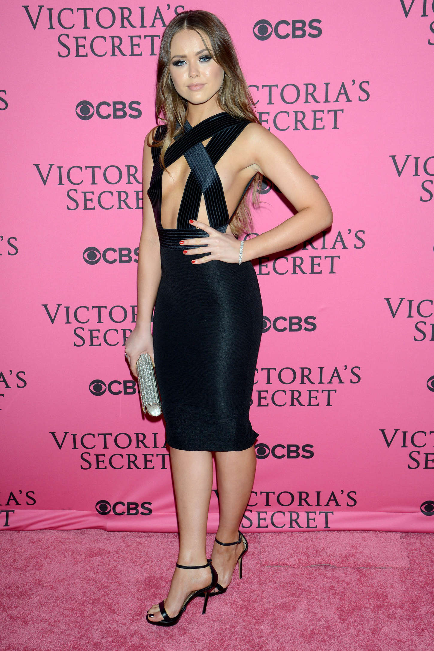 Kristina Bazan Victorias Secret Fashion Show After Party in New York