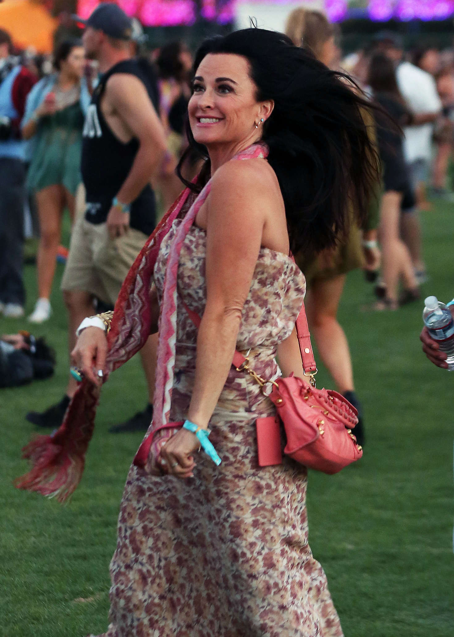 Kyle Richards Coachella Valley Music and Arts Festival in Indio