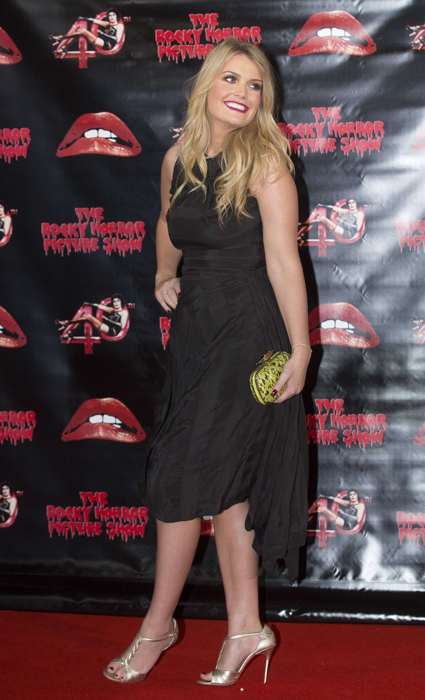 Lady Kitty Spencer The Rocky Horror Picture Show Anniversary Screening in London