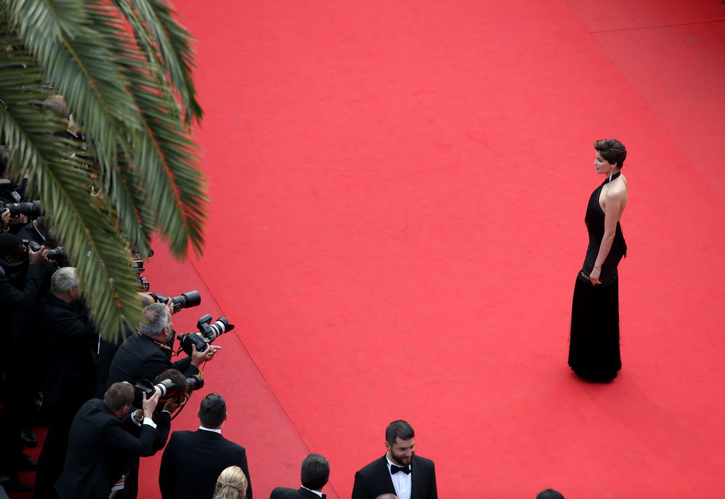 Laetitia Casta Closing Ceremony and Le Glace Et Le Ciel Premiere in Cannes