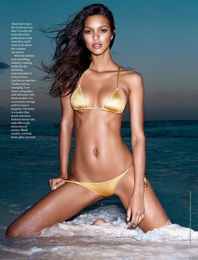 Lais Ribeiro GQ South Africa Magazine