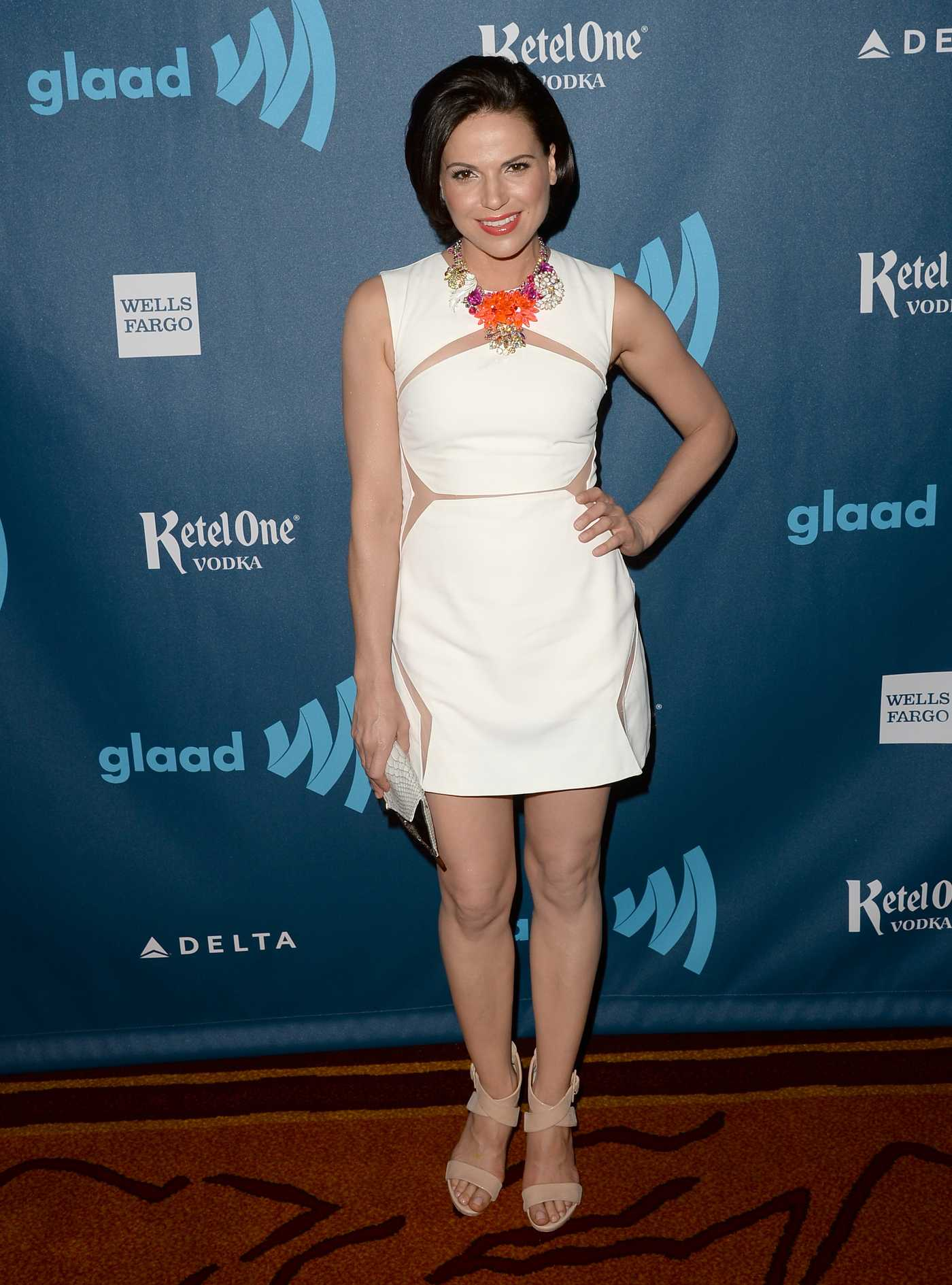 Lana Parrilla Annual GLAAD Media Awards in Los Angeles