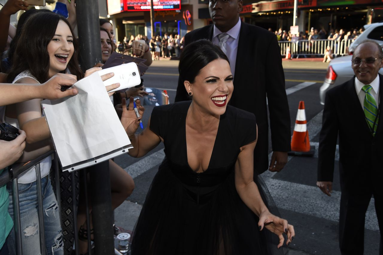 Lana Parrilla Once Upon a Time Season Screening After Party in Hollywood