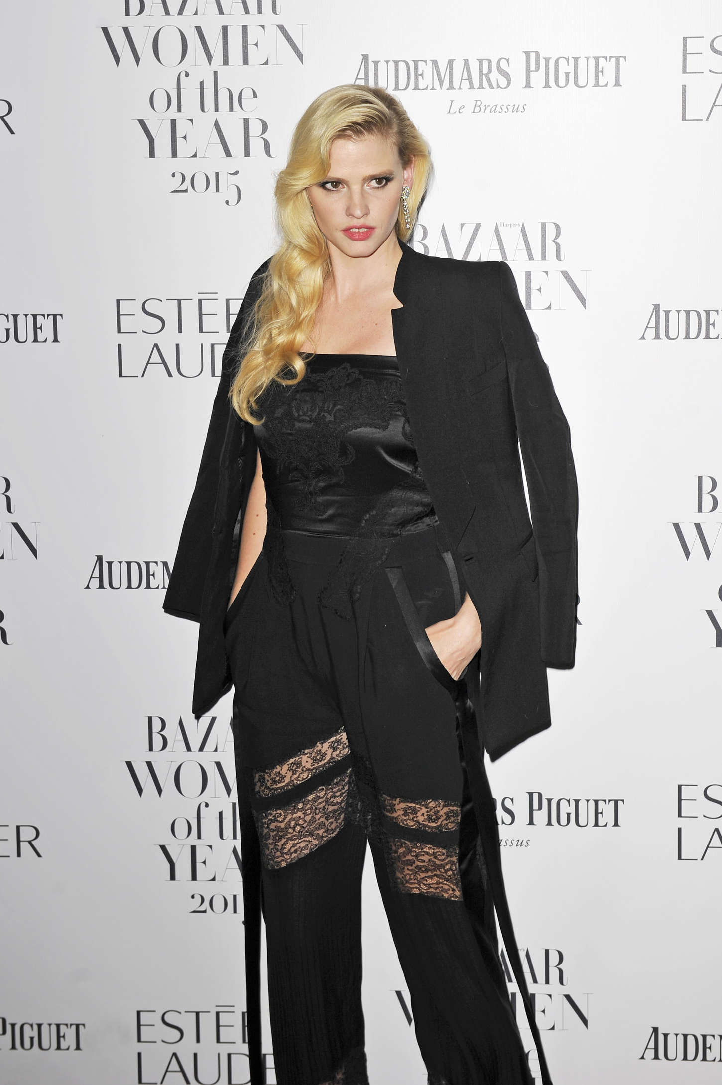 Lara Stone Harpers Bazaar Women Of The Year Awards in London