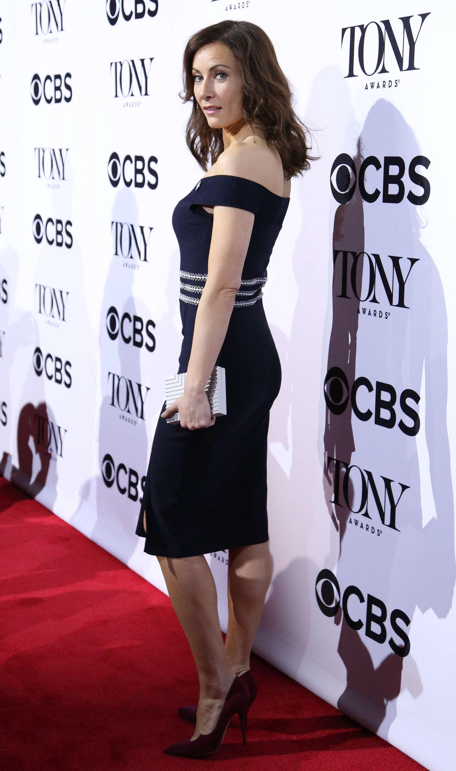 Laura Benanti Tony Awards Meet The Nominees in New York