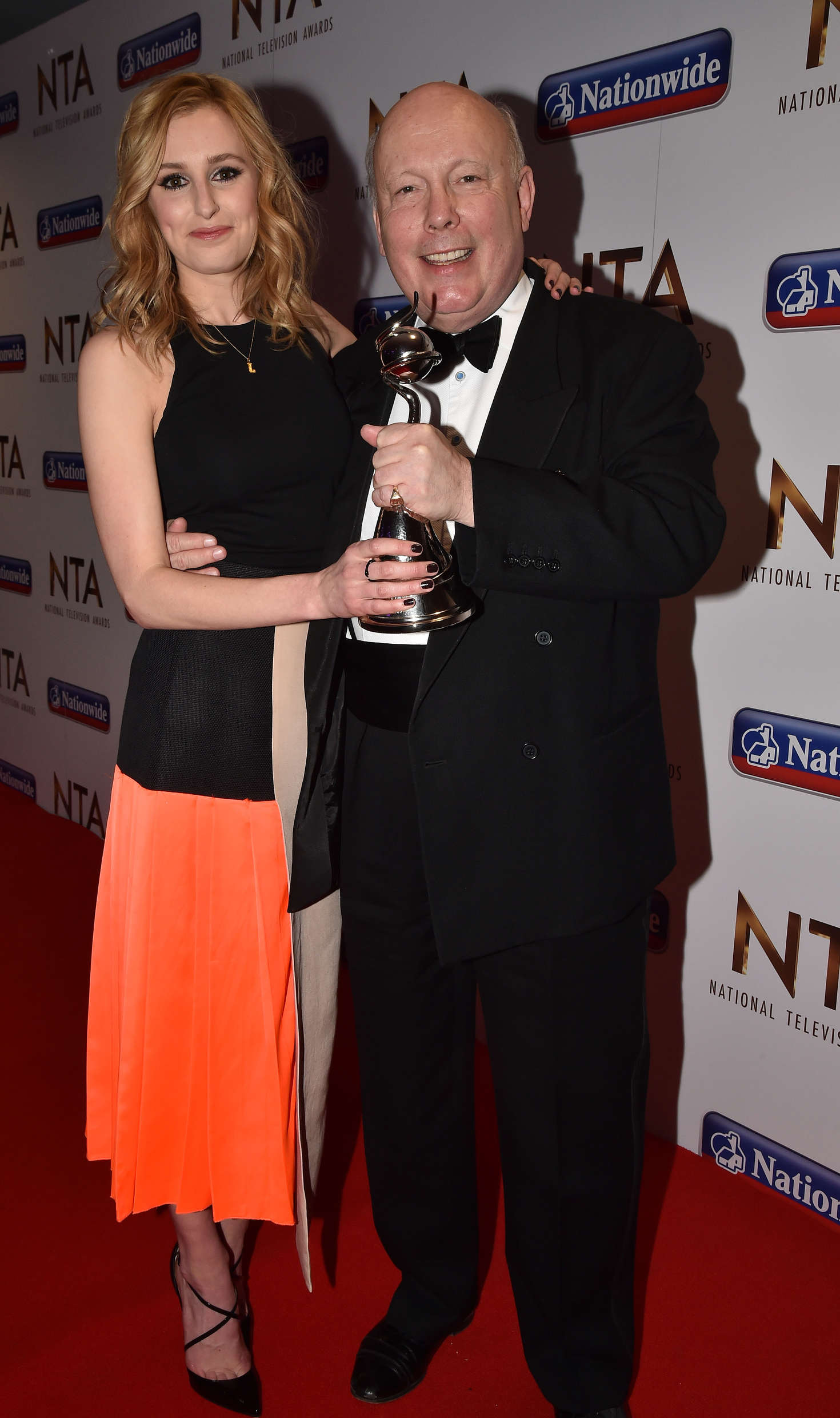 Laura Carmichael National Television Awards in London