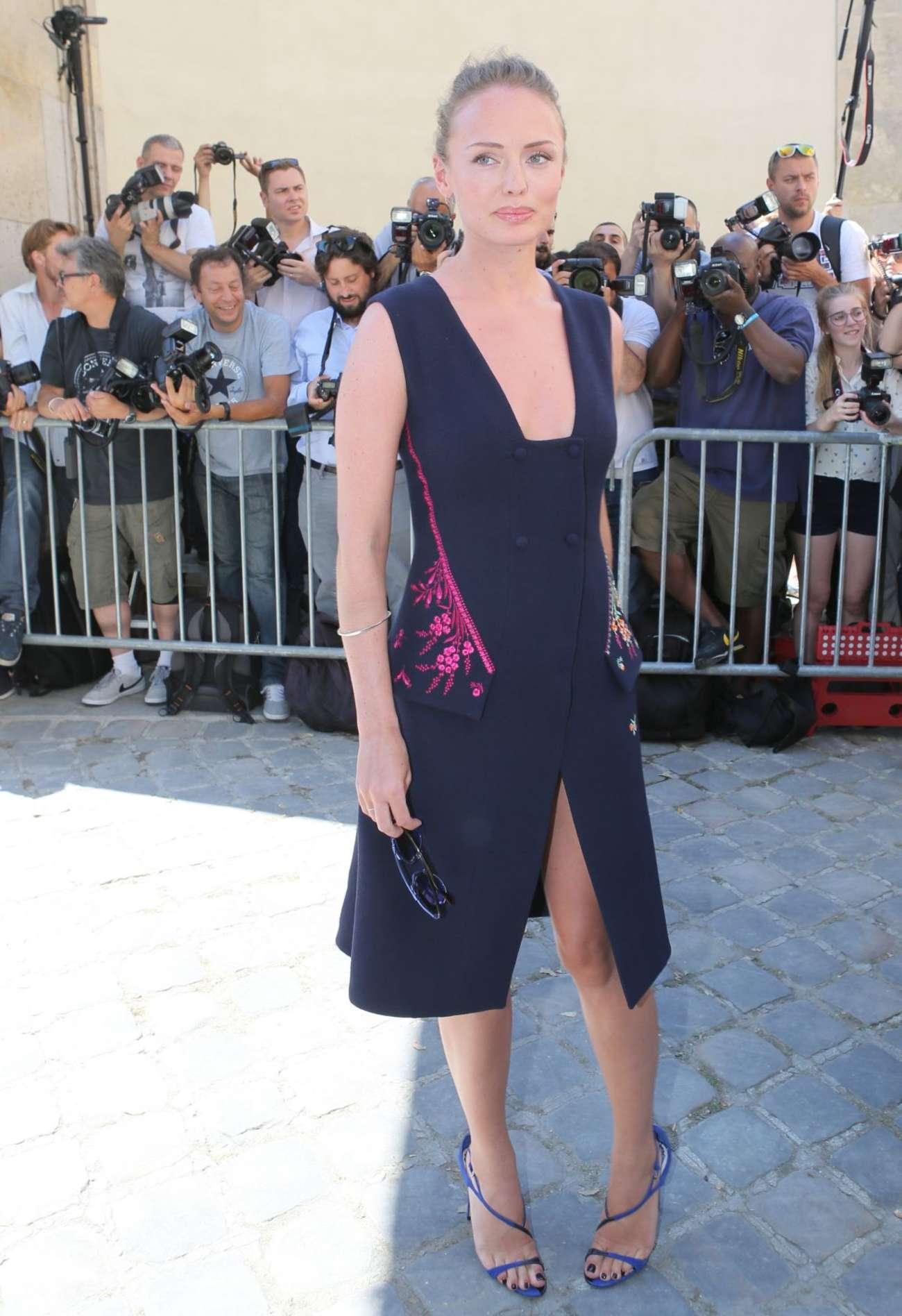 Laura Haddock Christian Dior Show in Paris