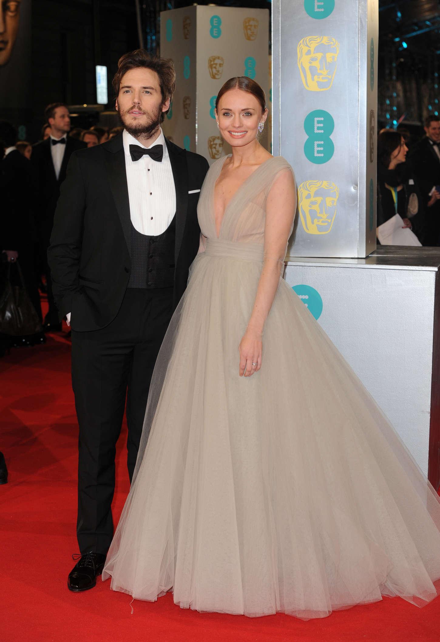 Laura Haddock EE British Academy Film Awards in London