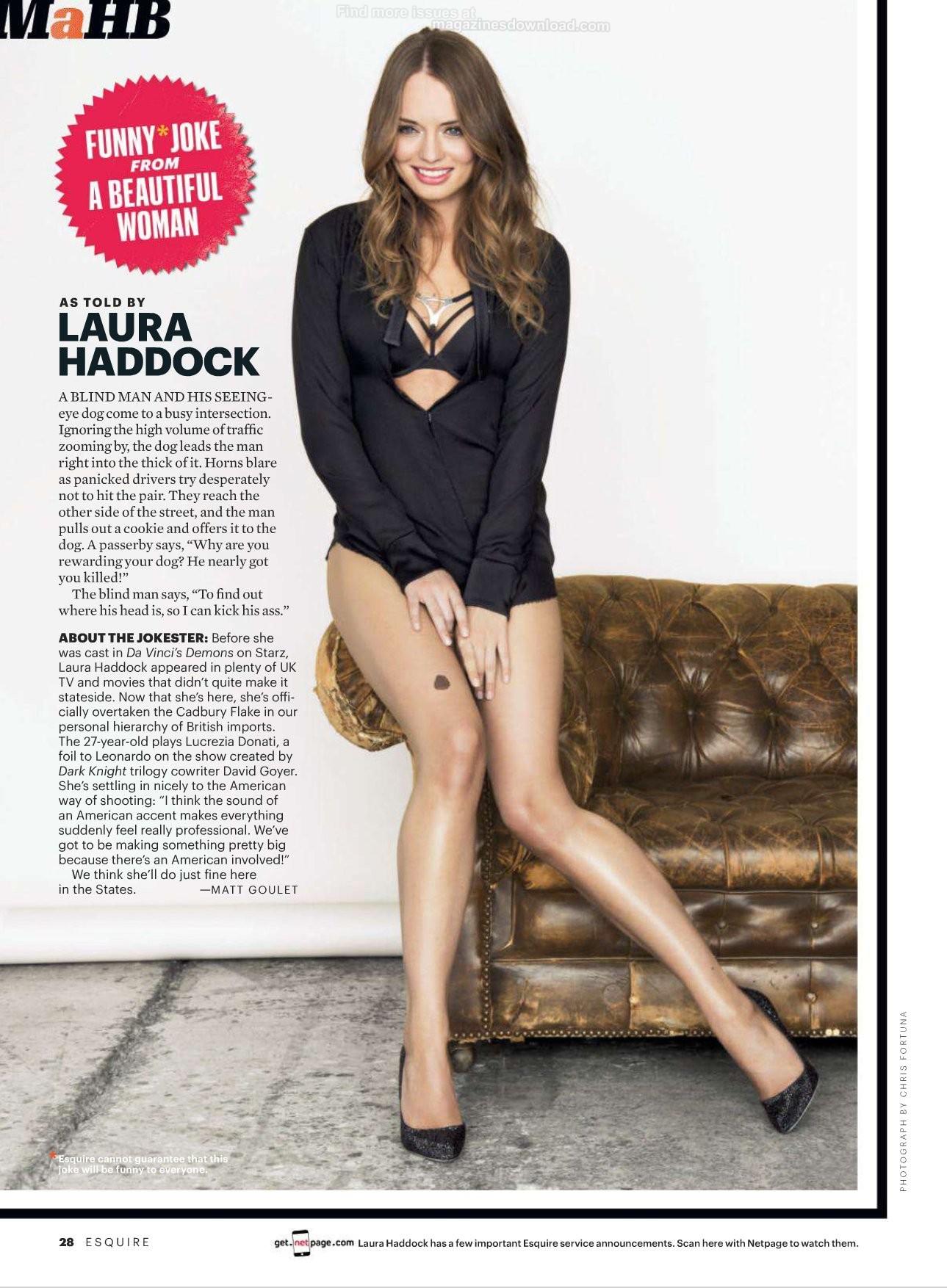 Laura Haddock Esquire Magazine