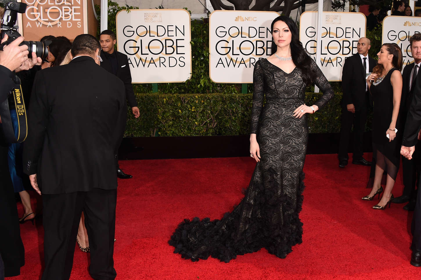 Laura Prepon Annual Golden Globe Awards in Beverly Hills