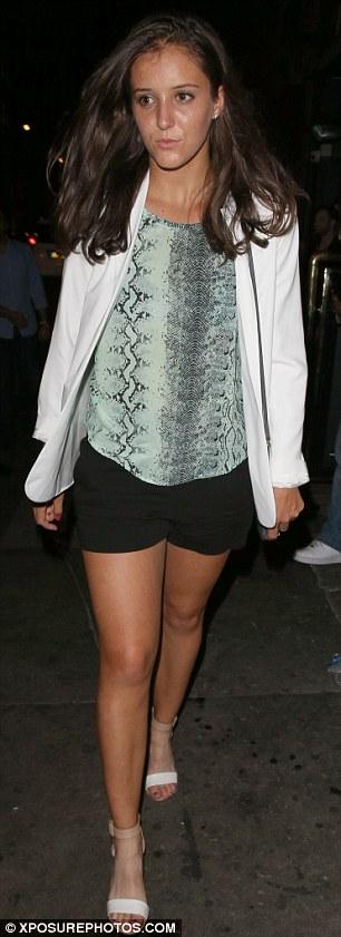 Laura Robson at Mahiki nightclub in London