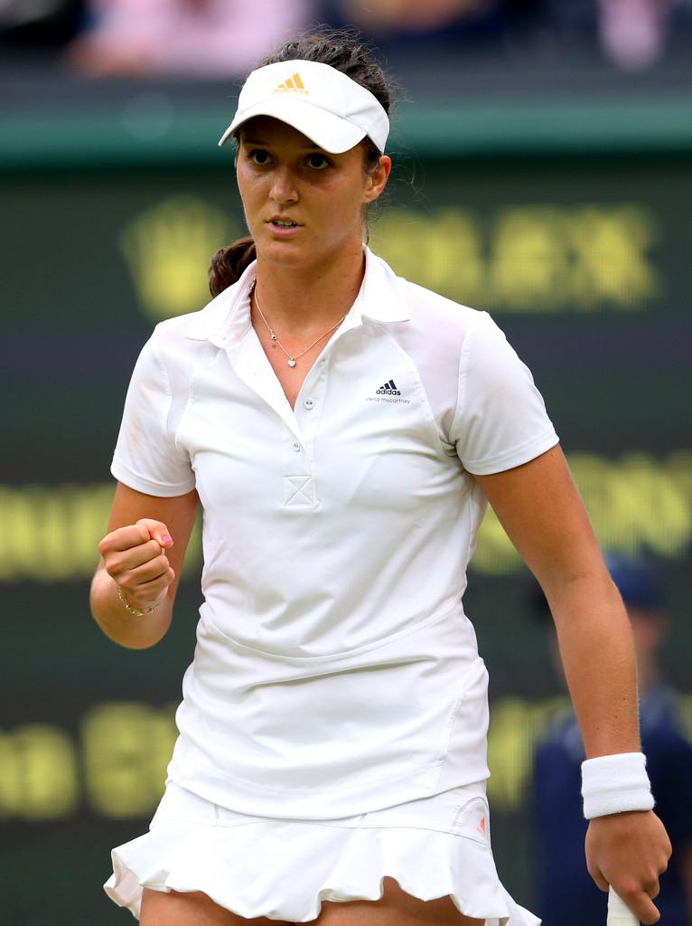 Laura Robson Wimbledon Day in London