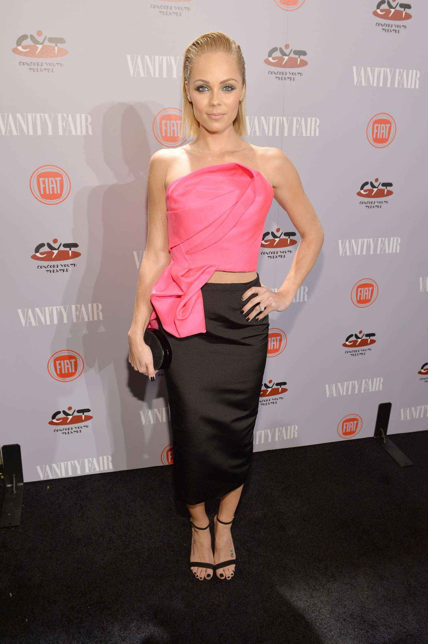 Laura Vandervoort Vanity Fair FIAT Young Hollywood Event in Los Angeles