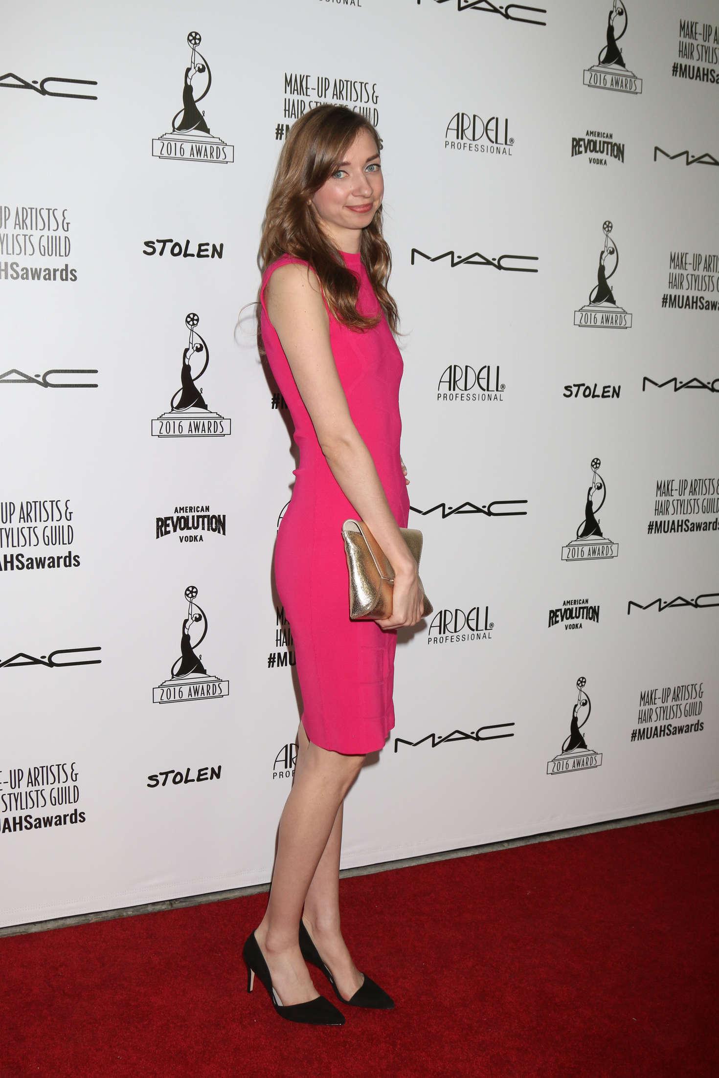 Lauren Lapkus Make-Up Artist and Hair Stylist Guild Awards in Los Angeles