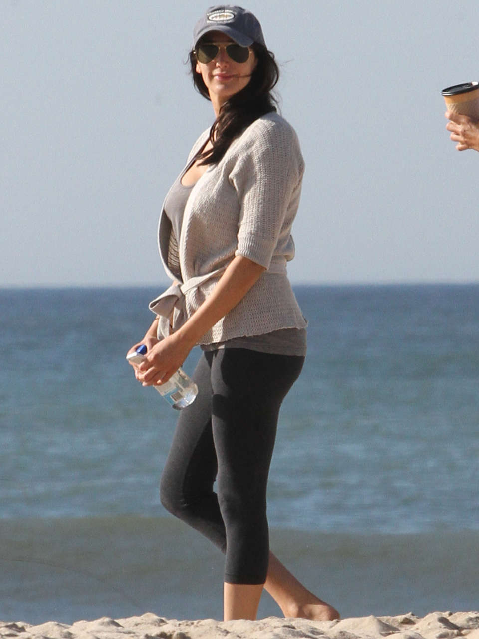 Lauren Silverman at Beach in New York