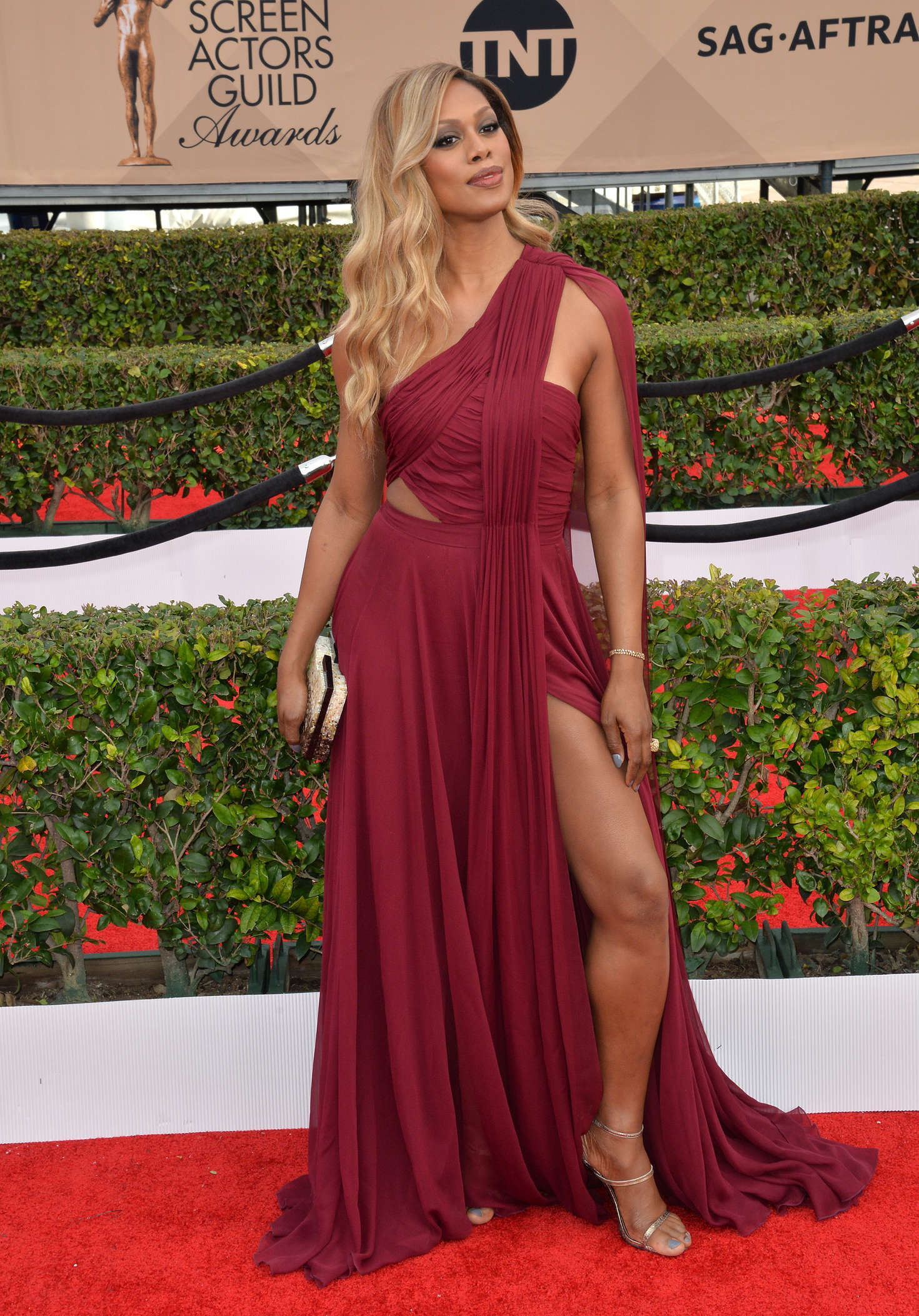 Laverne Cox Annual Screen Actors Guild Awards in Los Angeles
