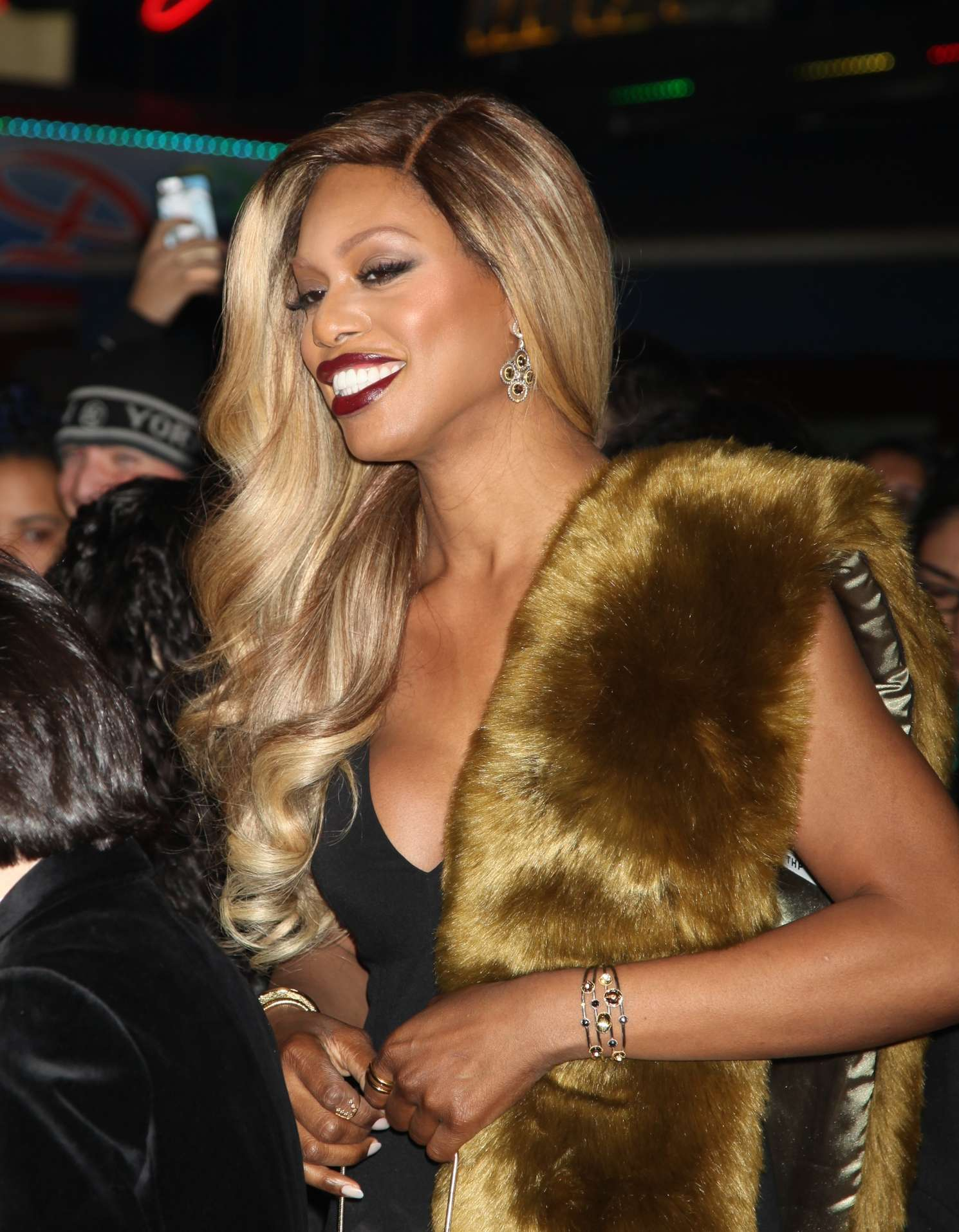 Laverne Cox School Of Rock Broadway Opening Night in New York