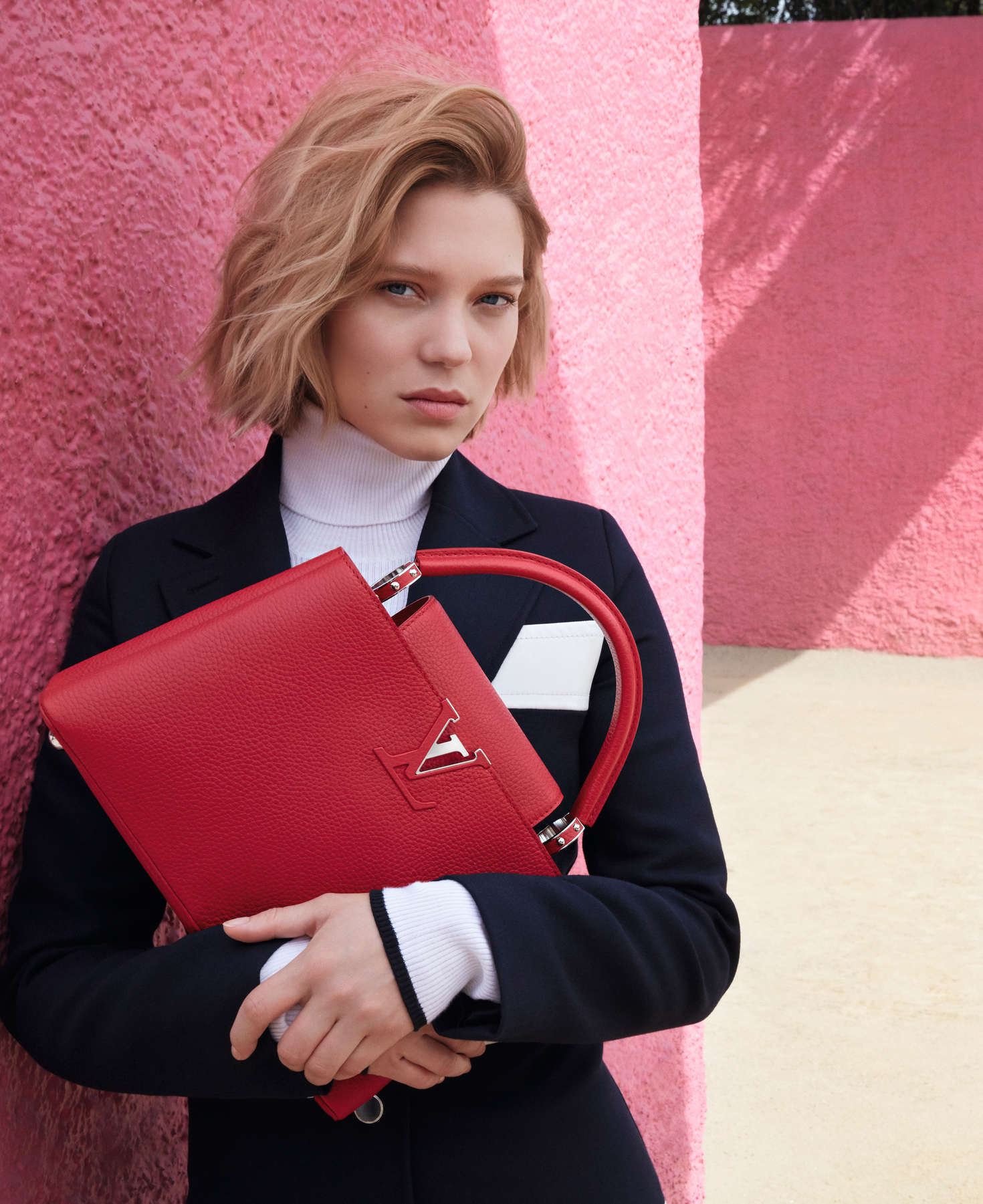 Lea Seydoux Louis Vuitton Travel Campaign