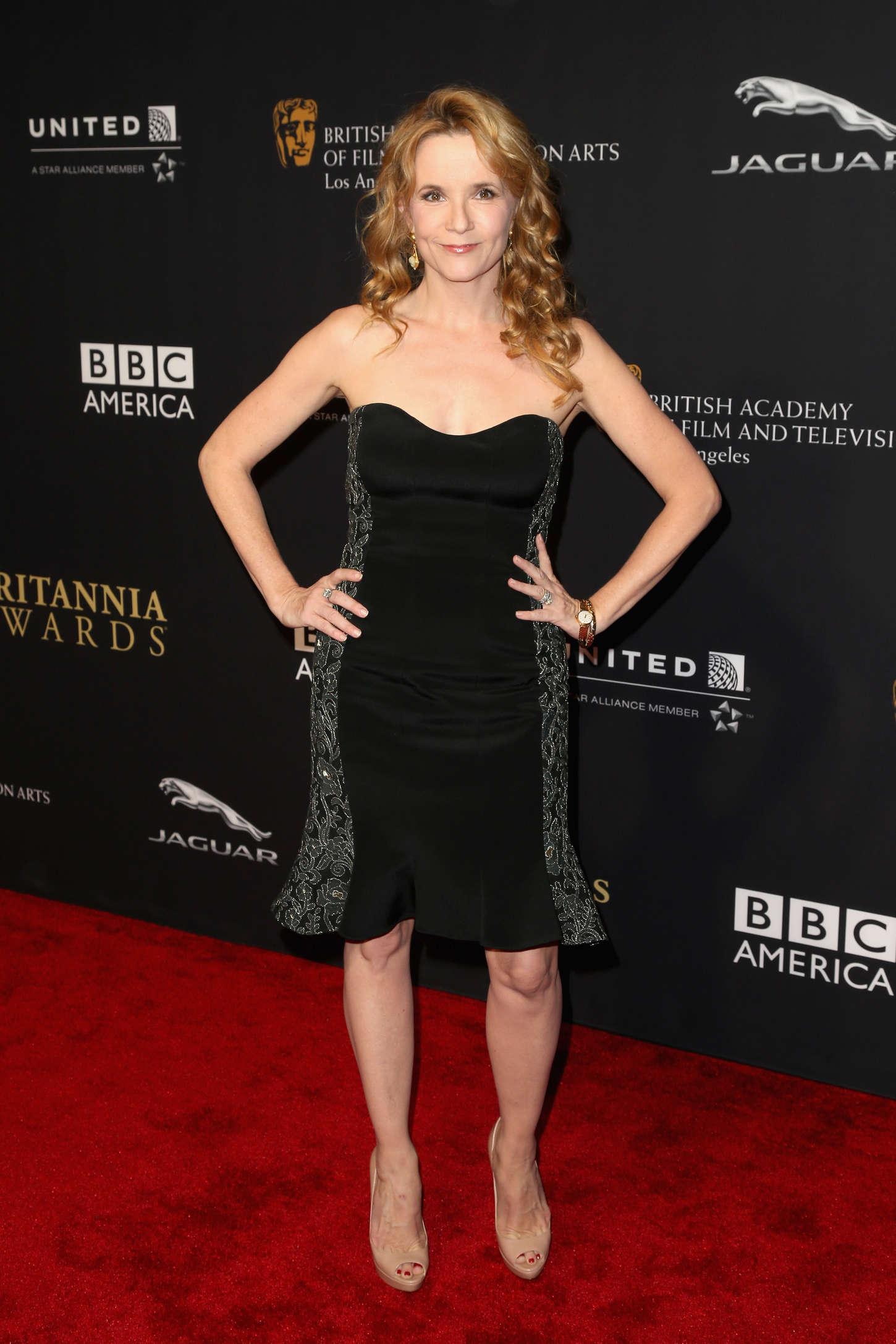 Lea Thompson BAFTA Los Angeles Jaguar Britannia Awards in Beverly Hills
