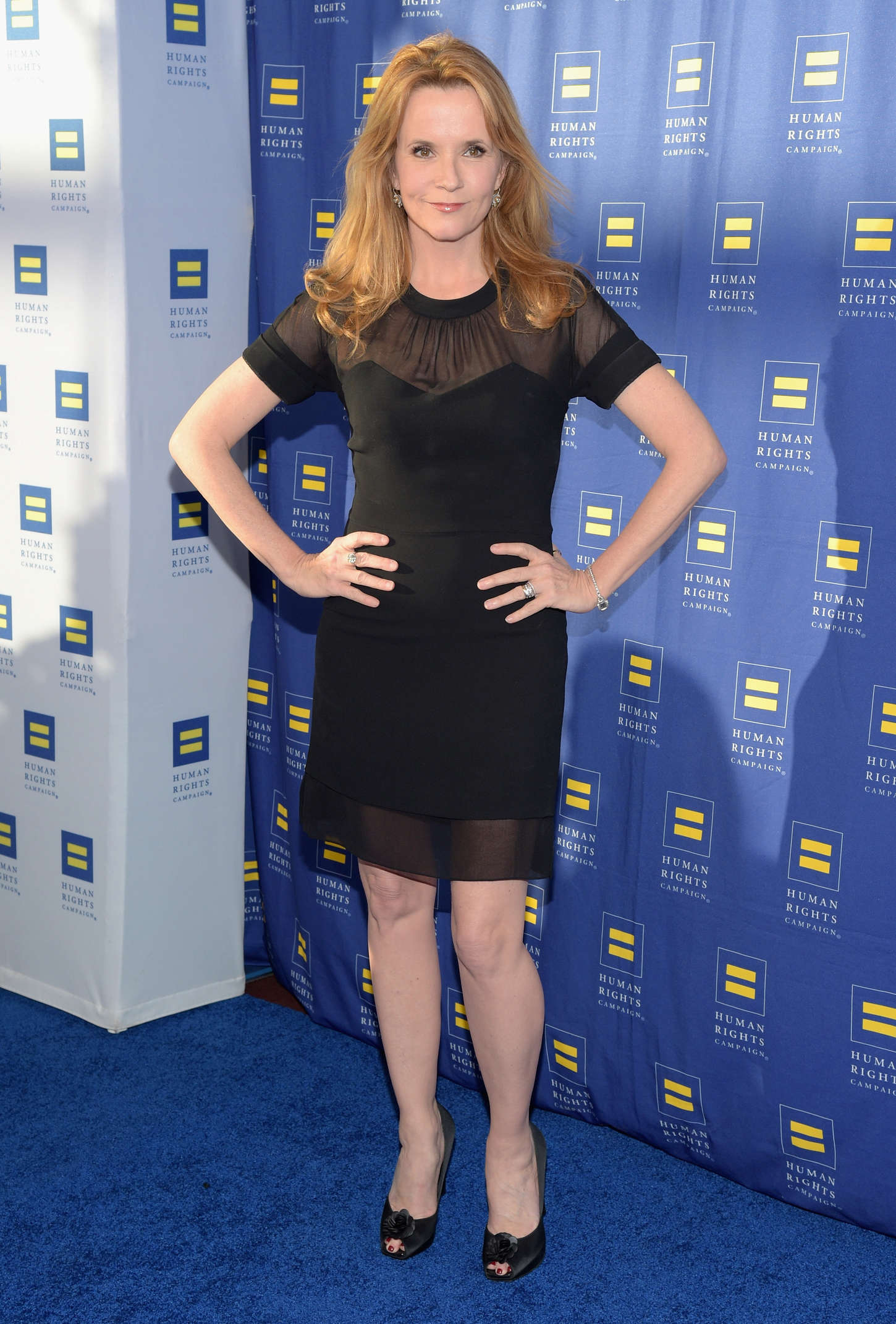Lea Thompson Human Rights Campaign Los Angeles Gala in Los Angeles
