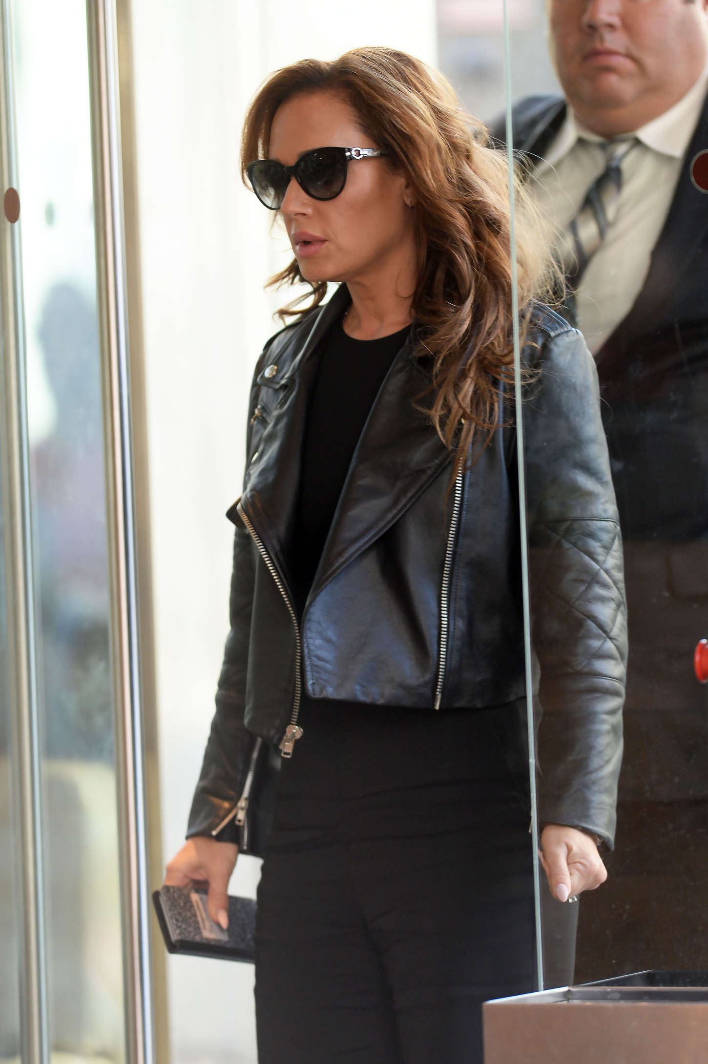 Leah Remini out in New York