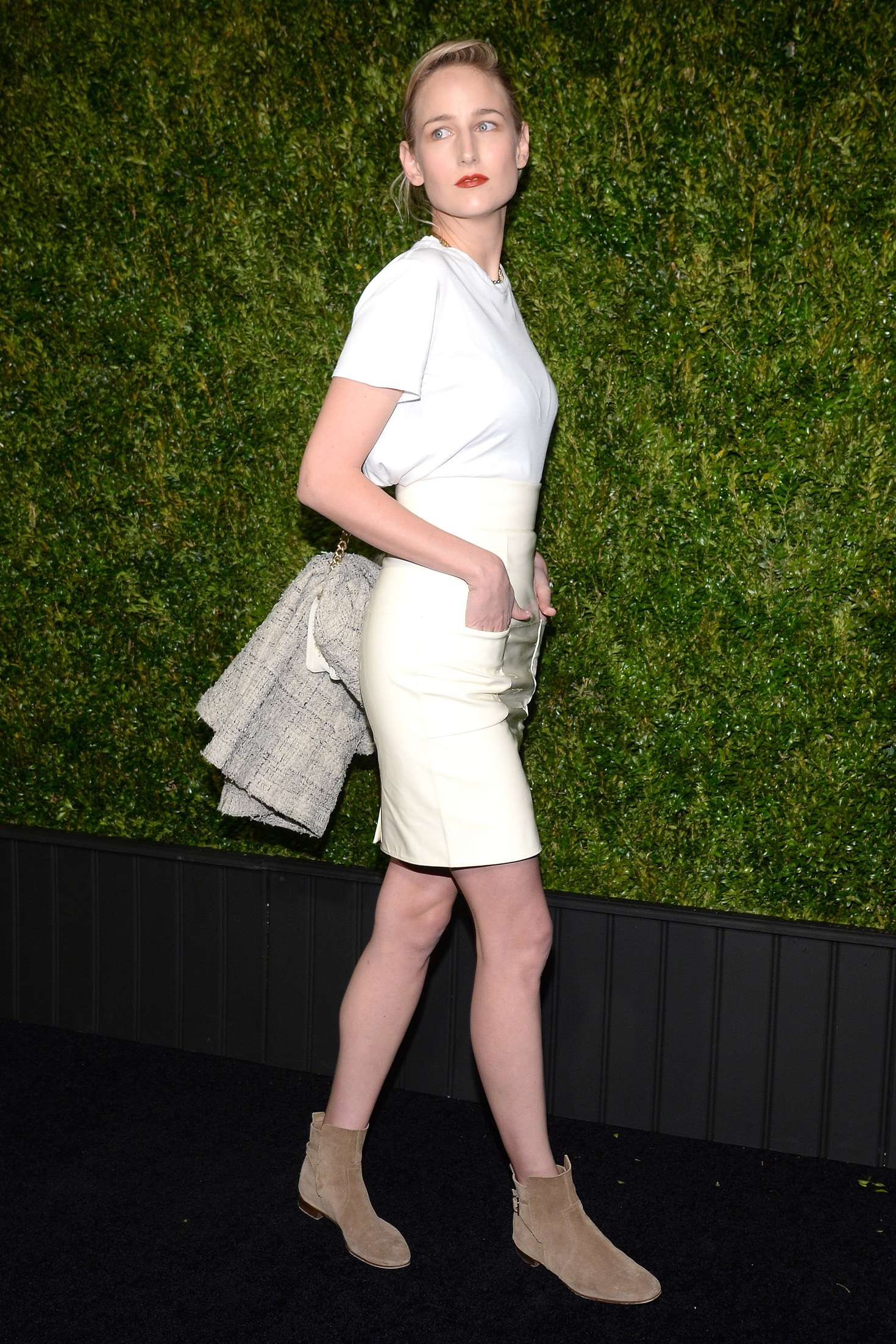 Leelee Sobieski Chanel Tribeca Film Festival Artists Dinner in New York
