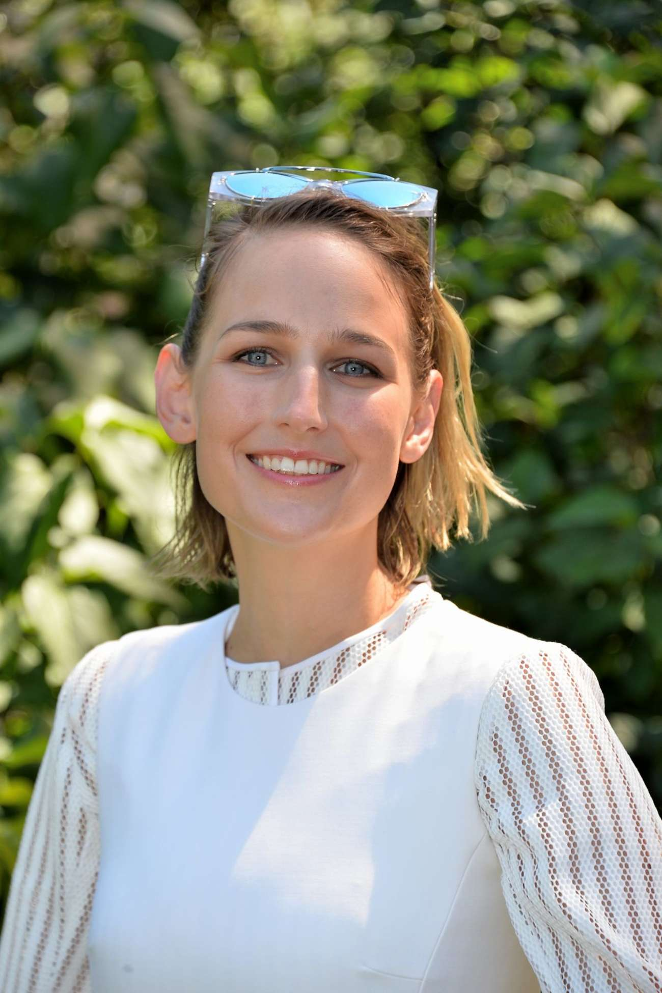 Leelee Sobieski Christian Dior Show in Paris