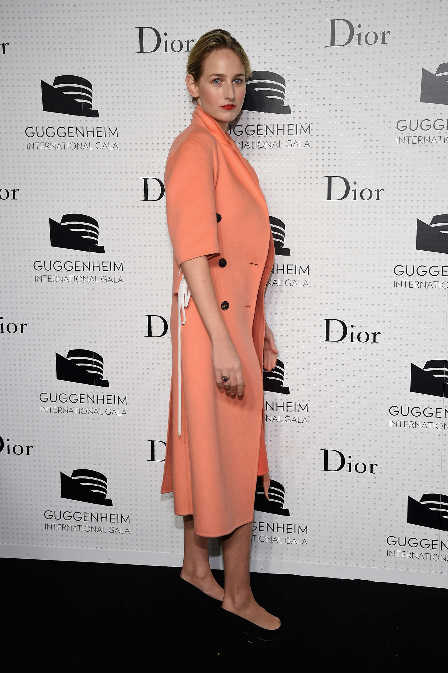 Leelee Sobieski Guggenheim International Gala Dinner made possible by Dior in New York