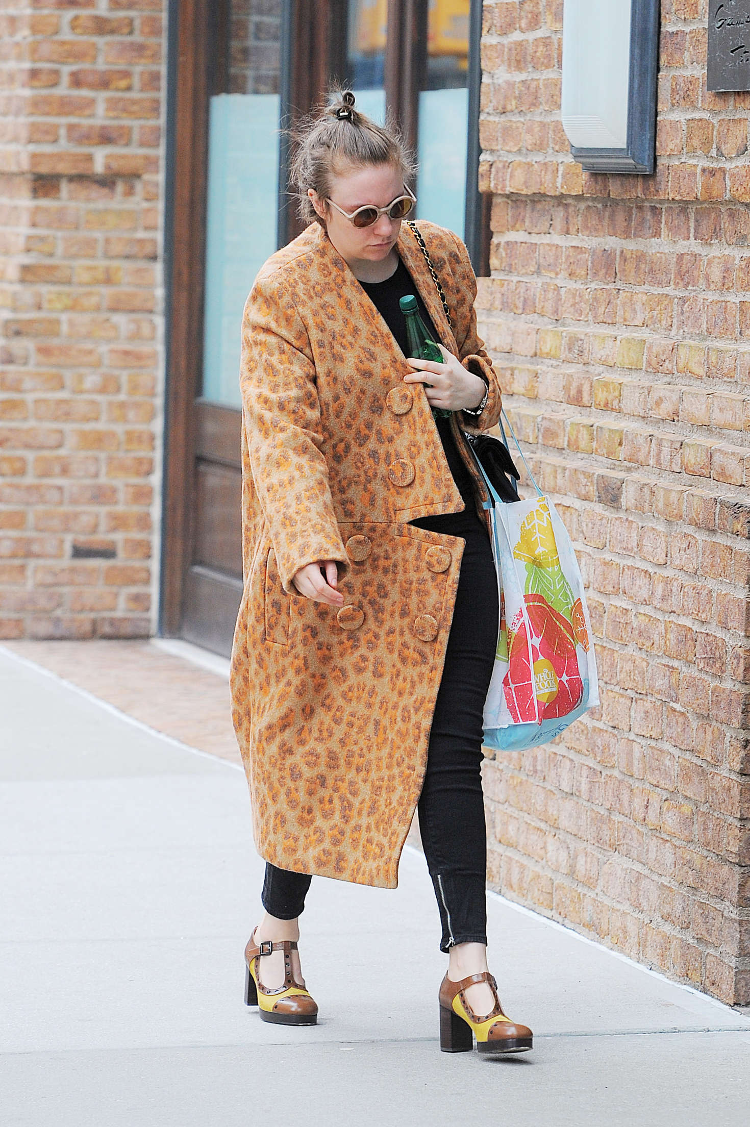 Lena Dunham out in Manhattan