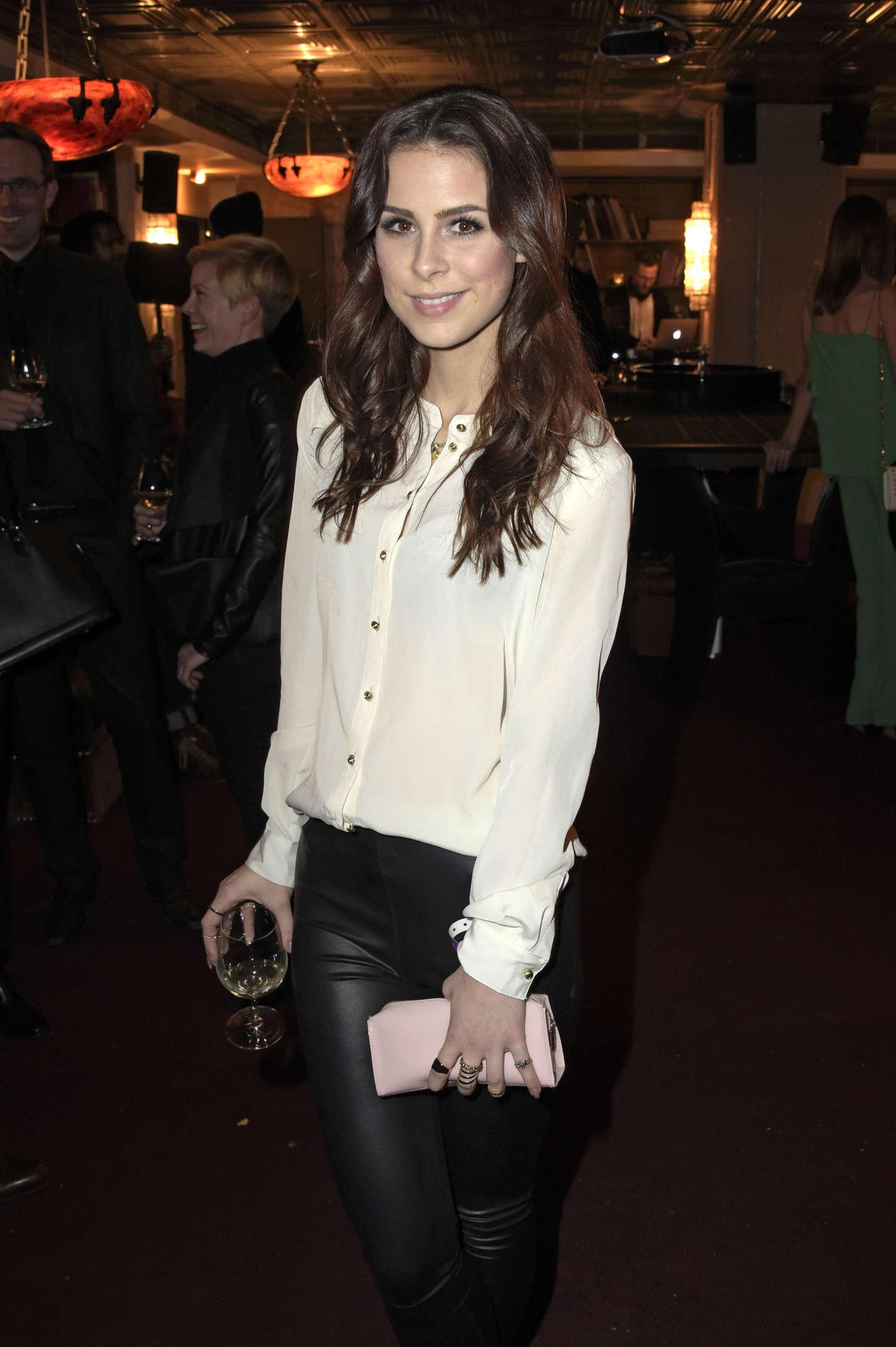 Lena Meyer Landrut Marc Cain Fashion Show In Berlin Celebrity Wiki Onceleb Wiki